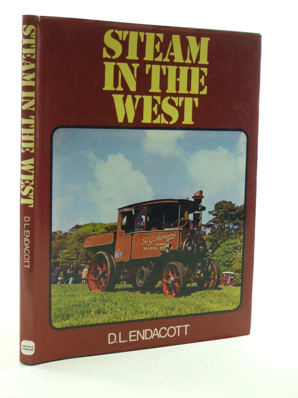 Photo of STEAM IN THE WEST written by Endacott, Andy published by David & Charles (STOCK CODE: 1603326)  for sale by Stella & Rose's Books