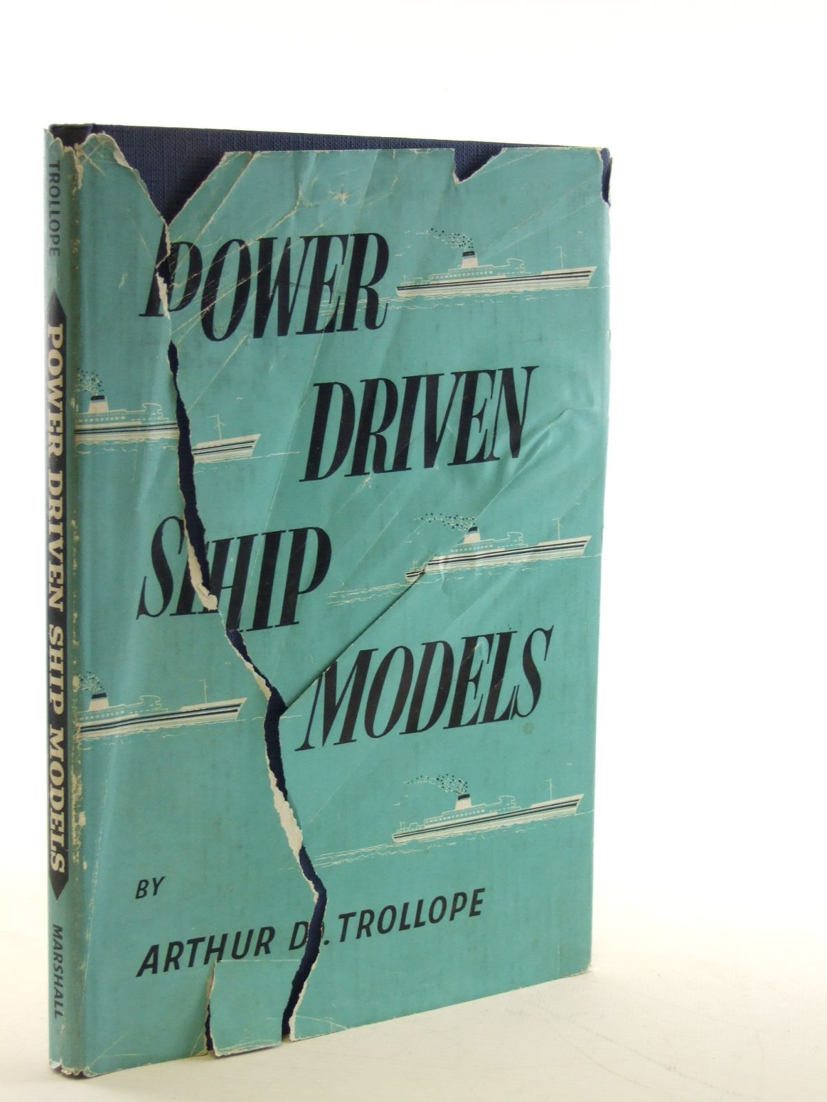 Photo of POWER DRIVEN SHIP MODELS written by Trollope, A.D. published by Percival Marshall And Co Ltd. (STOCK CODE: 1603375)  for sale by Stella & Rose's Books