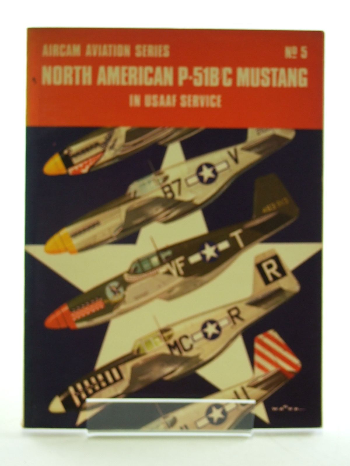 Photo of NORTH AMERICAN P-51B/C MUSTANG IN USAAF SERVICE written by Mcdowell, Ernest R. illustrated by Ward, Richard published by Arco Publishing (STOCK CODE: 1603558)  for sale by Stella & Rose's Books