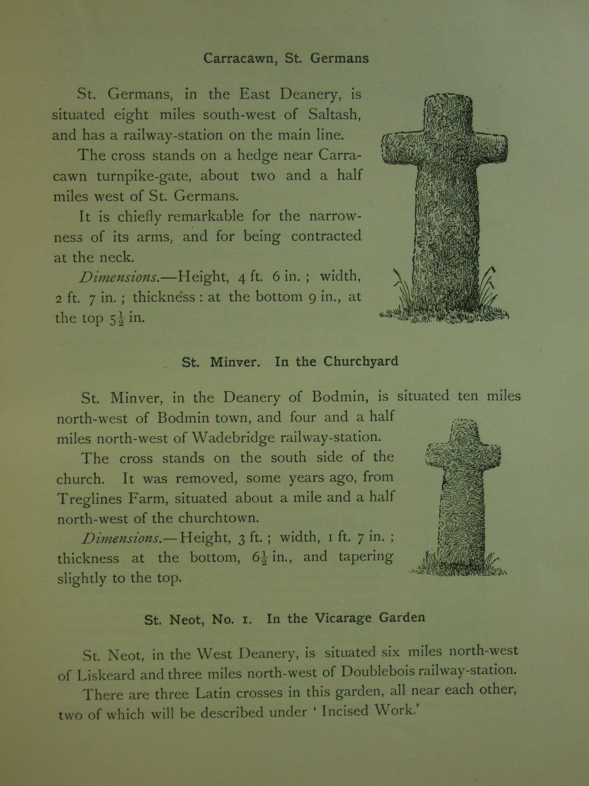 Photo of OLD CORNISH CROSSES written by Langdon, Arthur G.<br />Allen, J. Romilly published by Joseph Pollard (STOCK CODE: 1603717)  for sale by Stella & Rose's Books
