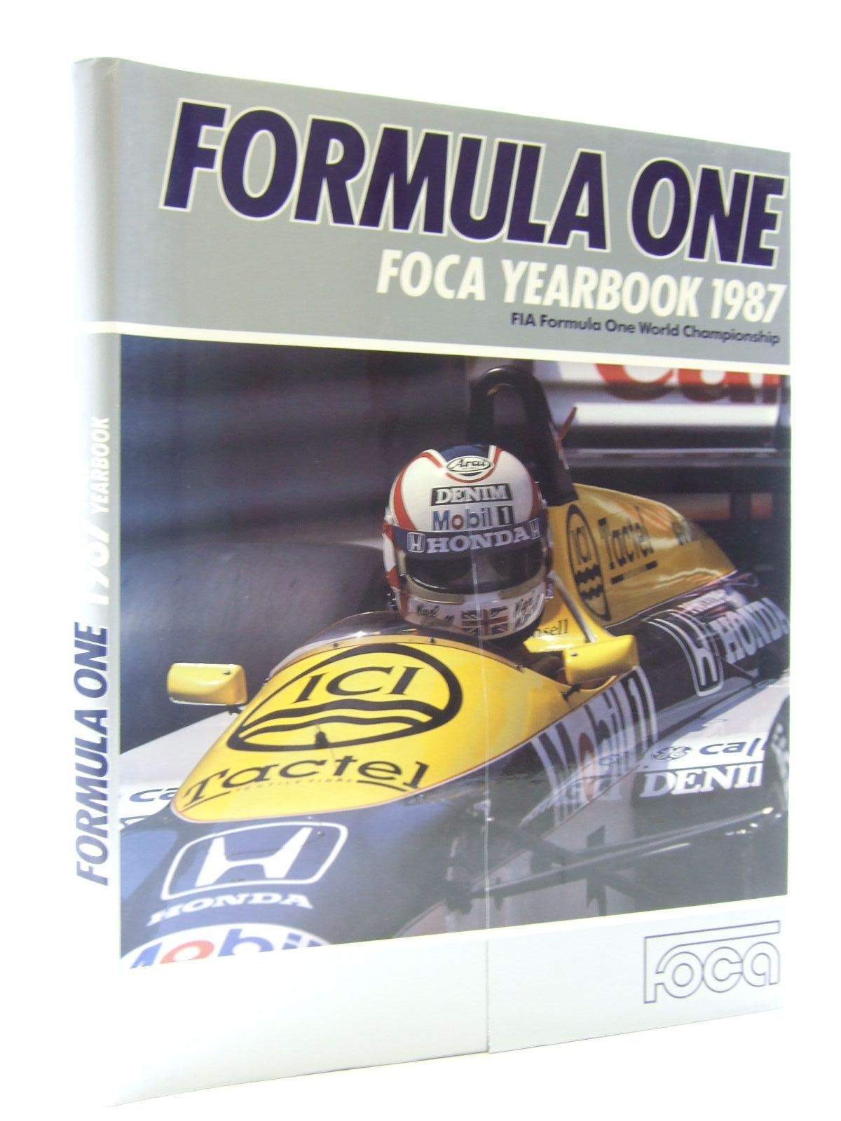 Photo of FORMULA ONE FOCA YEARBOOK 1987 published by Grid Publishing (STOCK CODE: 1603724)  for sale by Stella & Rose's Books
