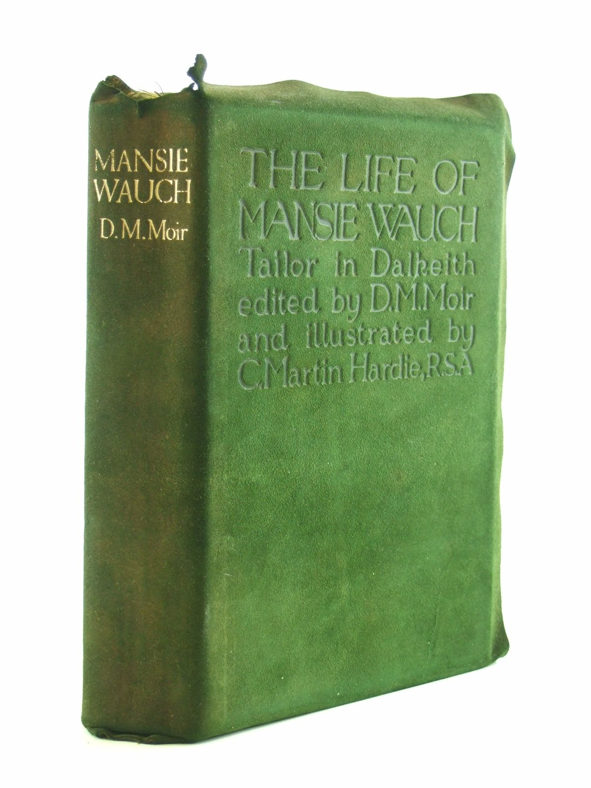 Photo of THE LIFE OF MANSIE WAUCH written by Wauch, Mansie<br />Moir, D.M. illustrated by Hardie, Charles Martin published by T.N. Foulis (STOCK CODE: 1603733)  for sale by Stella & Rose's Books