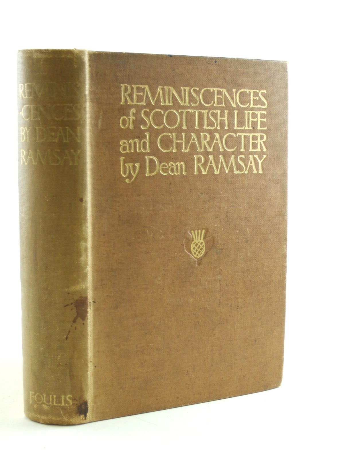 Photo of REMINISCENCES OF SCOTTISH LIFE AND CHARACTER written by Ramsay, Dean illustrated by Kerr, H.W published by T.N. Foulis (STOCK CODE: 1603736)  for sale by Stella & Rose's Books