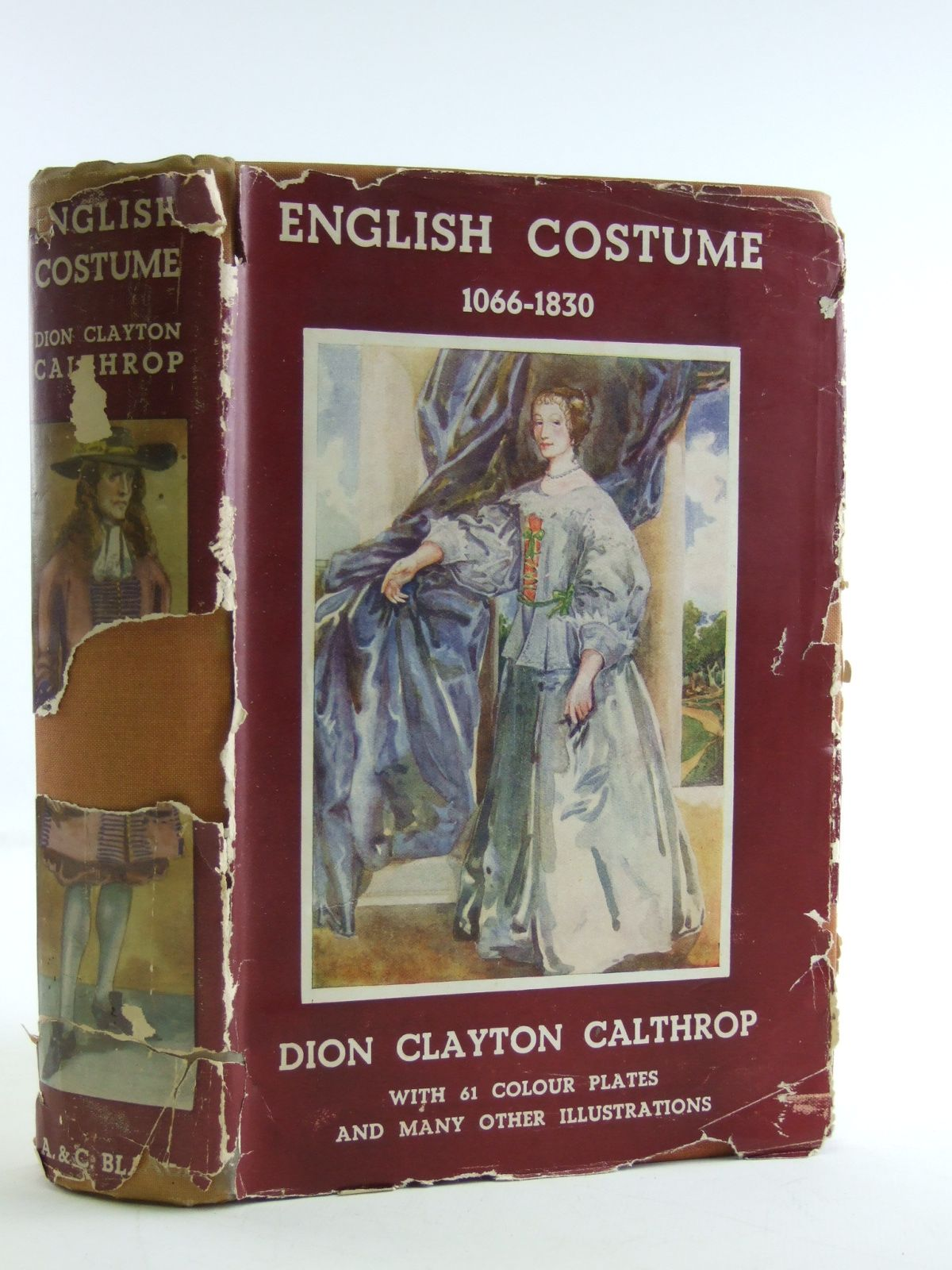 Photo of ENGLISH COSTUME written by Calthrop, Dion Clayton illustrated by Calthrop, Dion Clayton published by A. & C. Black (STOCK CODE: 1603972)  for sale by Stella & Rose's Books