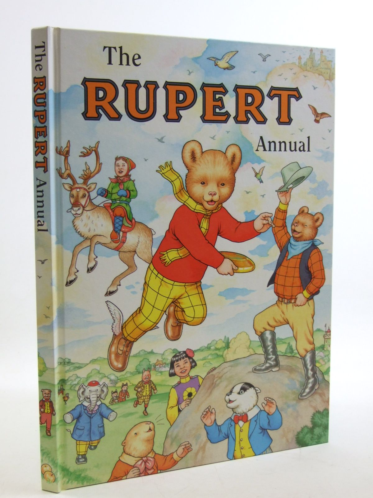 Photo of RUPERT ANNUAL 1999 written by Robinson, Ian illustrated by Harrold, John<br />Hart, Gina published by Pedigree Books Limited (STOCK CODE: 1604070)  for sale by Stella & Rose's Books