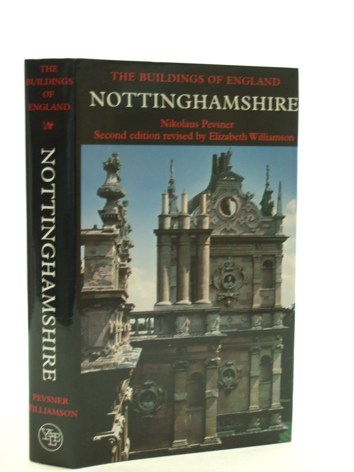 Photo of NOTTINGHAMSHIRE (BUILDINGS OF ENGLAND) written by Pevsner, Nikolaus<br />Williamson, Elizabeth published by Yale University Press (STOCK CODE: 1604530)  for sale by Stella & Rose's Books