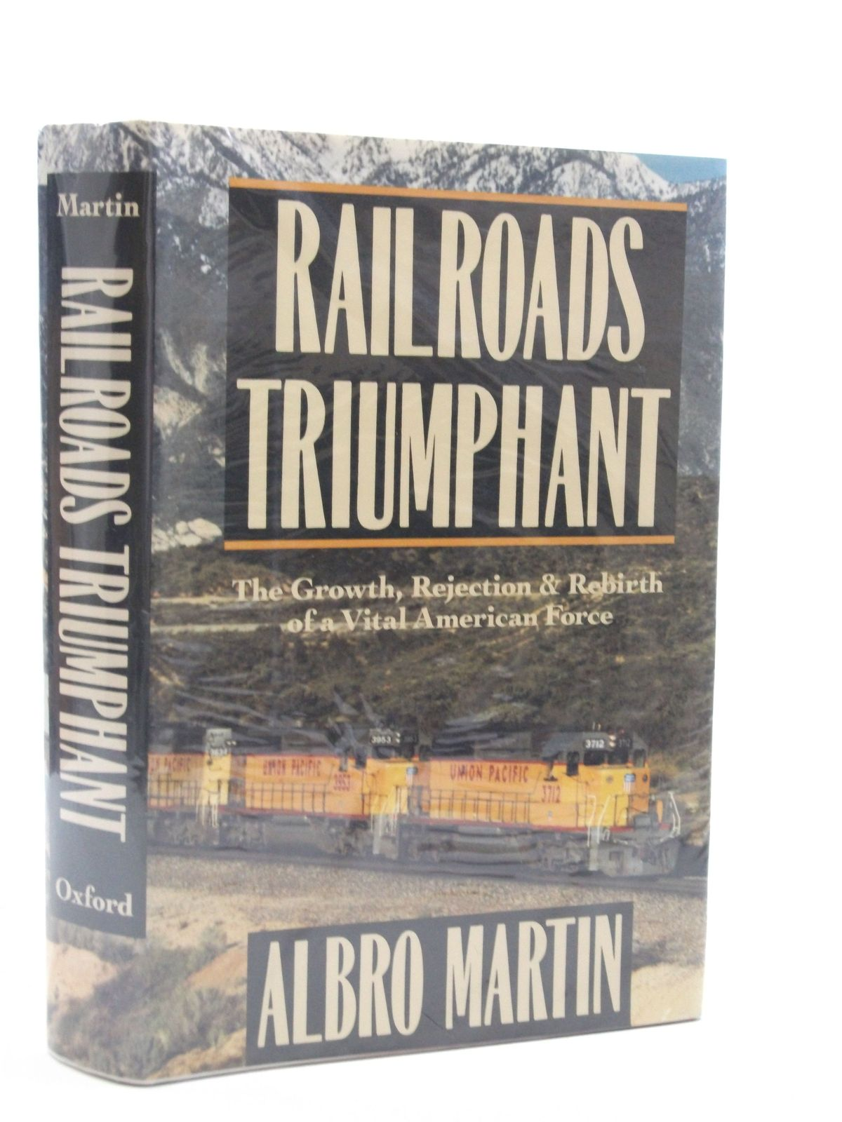 Photo of RAILROADS TRIUMPHANT written by Martin, Albro published by Oxford University Press (STOCK CODE: 1604583)  for sale by Stella & Rose's Books