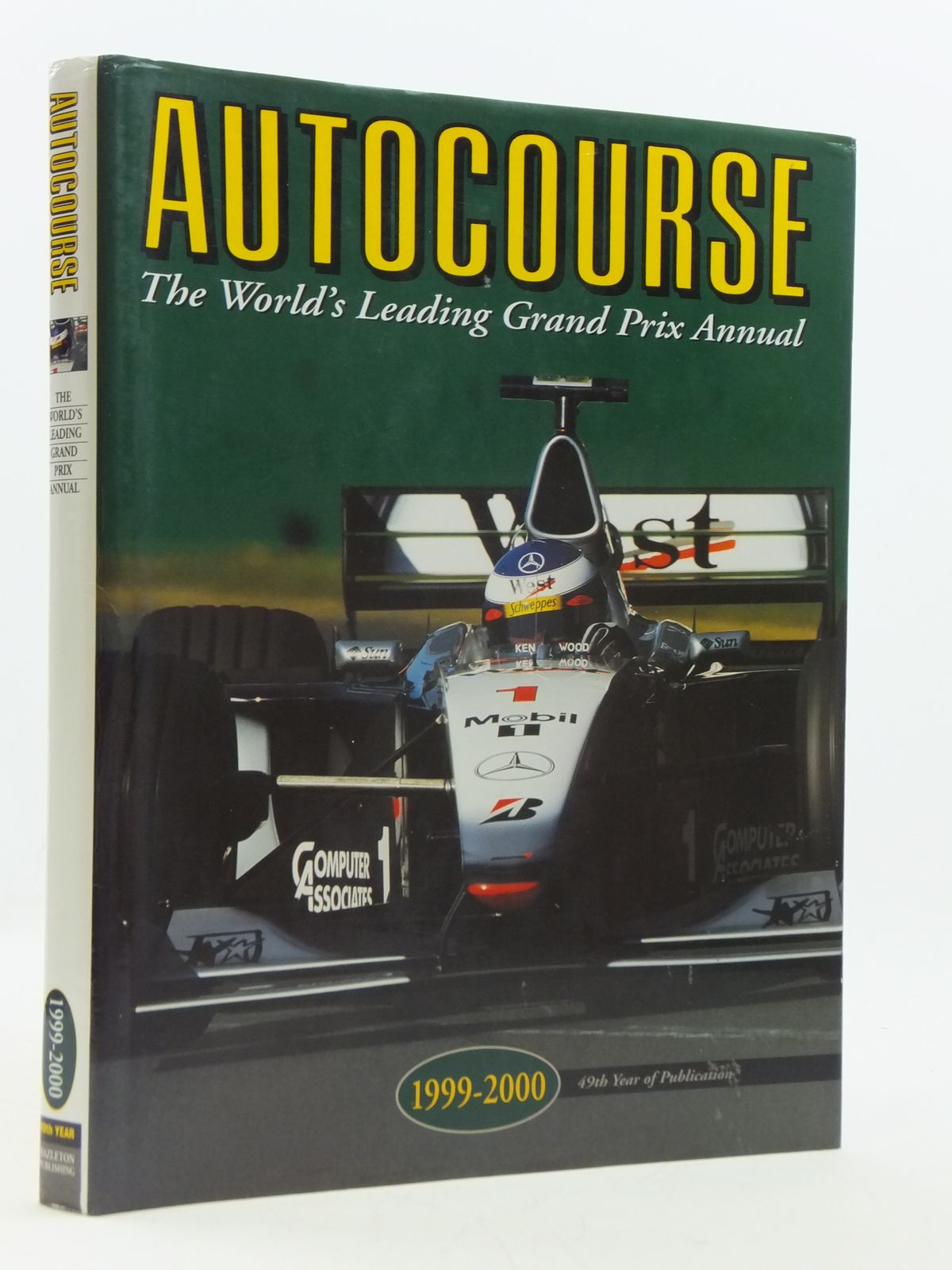 Photo of AUTOCOURSE 1999-2000 written by Henry, Alan published by Hazleton Publishing (STOCK CODE: 1604611)  for sale by Stella & Rose's Books