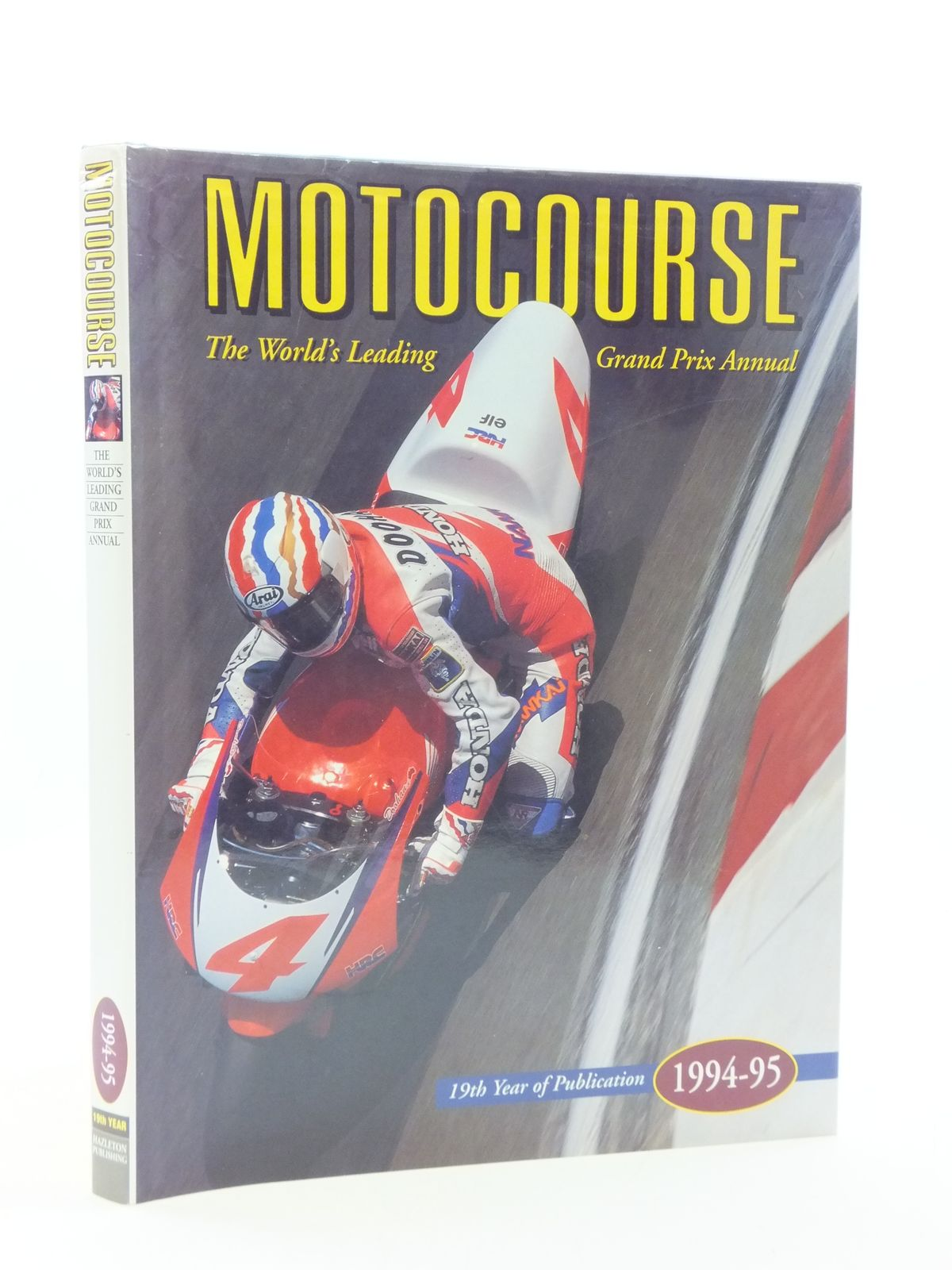 Photo of MOTOCOURSE 1994-95 published by Hazleton Publishing (STOCK CODE: 1604648)  for sale by Stella & Rose's Books
