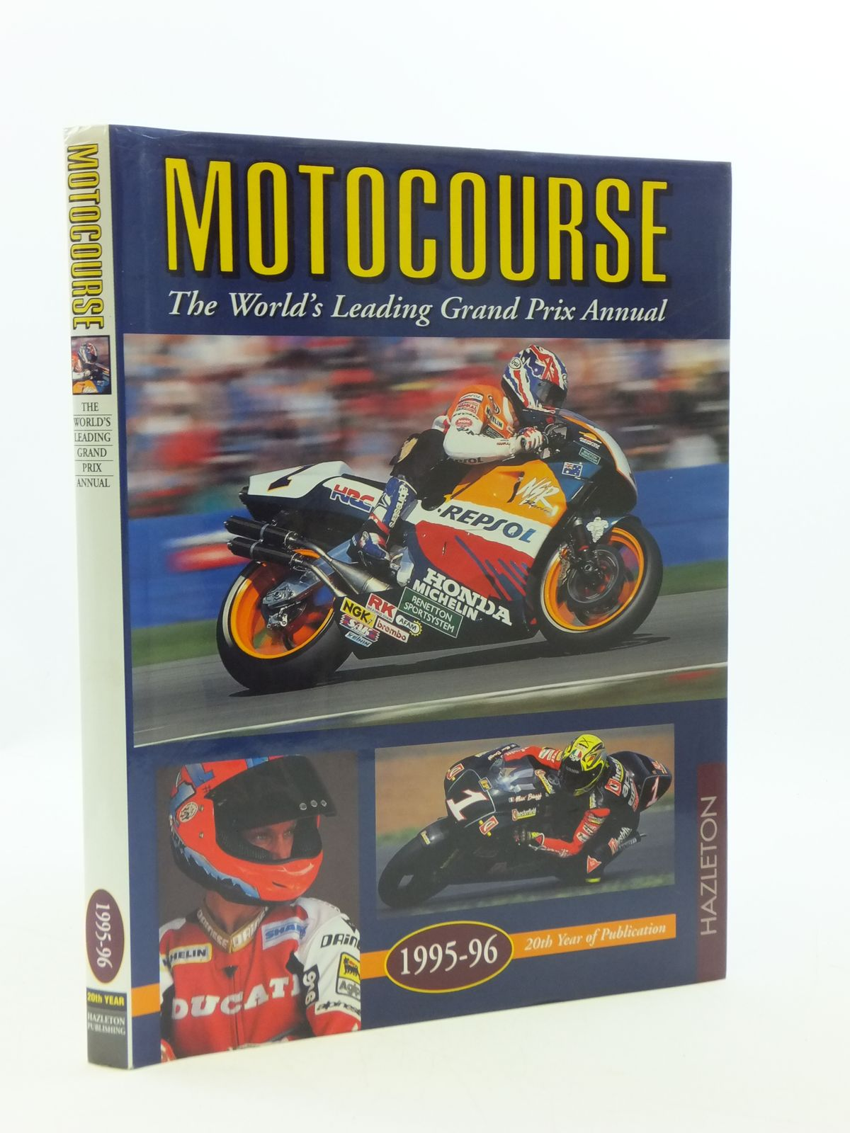 Photo of MOTOCOURSE 1995-96 published by Hazleton Publishing (STOCK CODE: 1604649)  for sale by Stella & Rose's Books