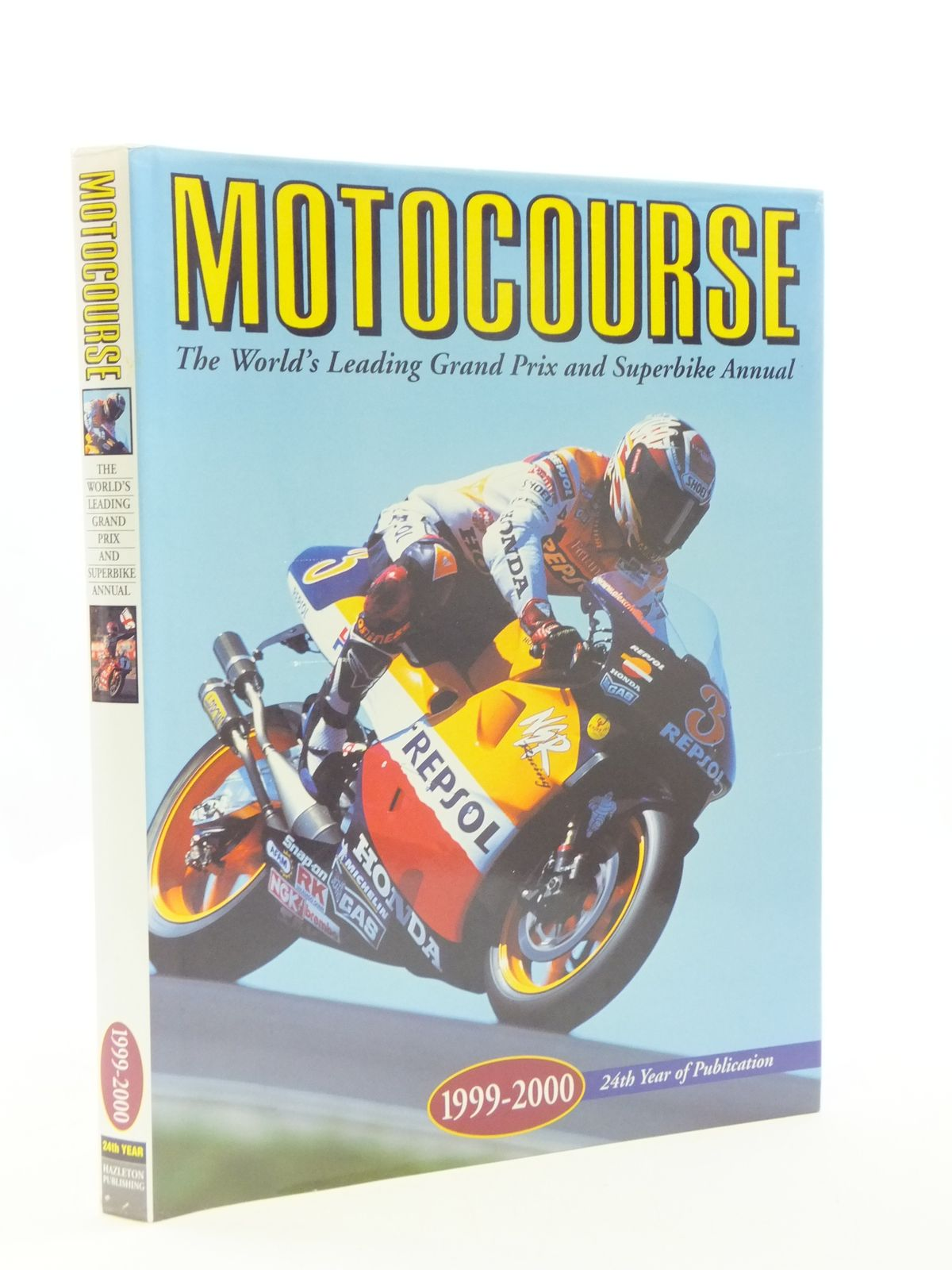 Photo of MOTOCOURSE 1999-2000 published by Hazleton Publishing (STOCK CODE: 1604653)  for sale by Stella & Rose's Books