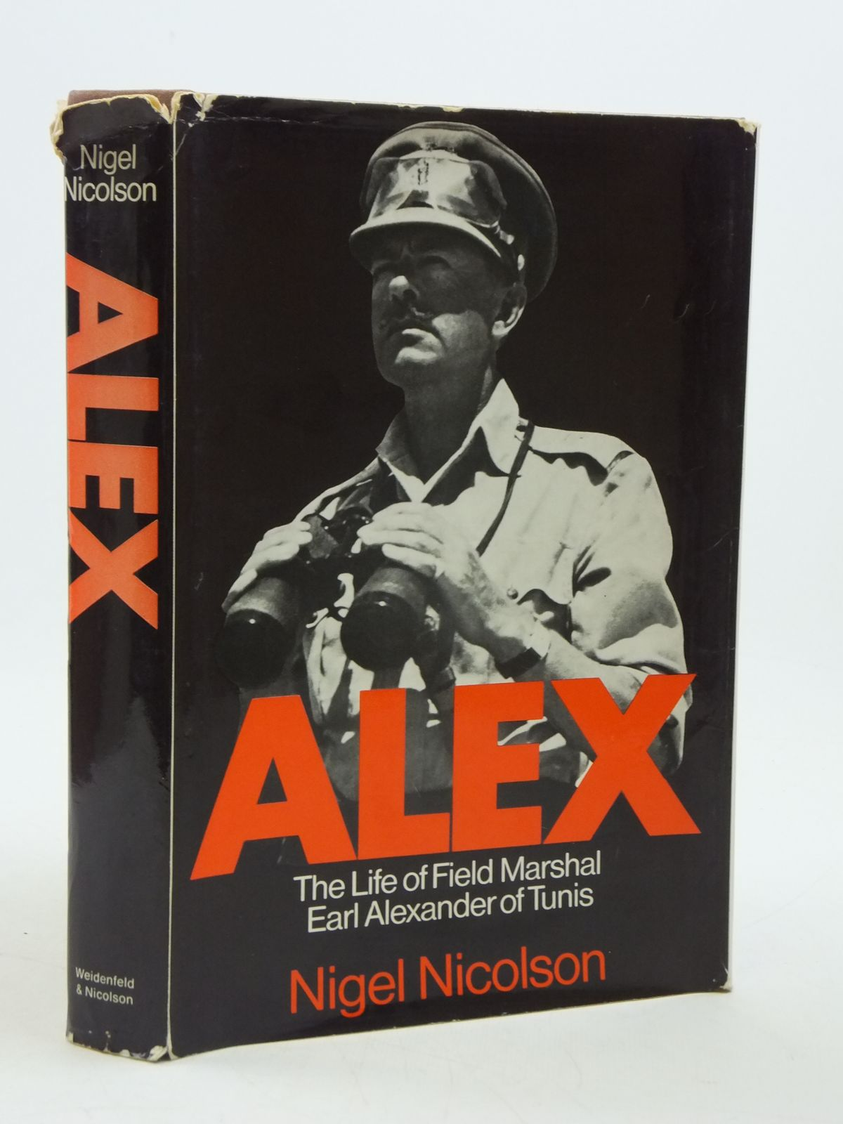 Photo of ALEX THE LIFE OF FIELD MARSHAL EARL ALEXANDER OF TUNIS written by Nicolson, Nigel published by Weidenfeld and Nicolson (STOCK CODE: 1604700)  for sale by Stella & Rose's Books