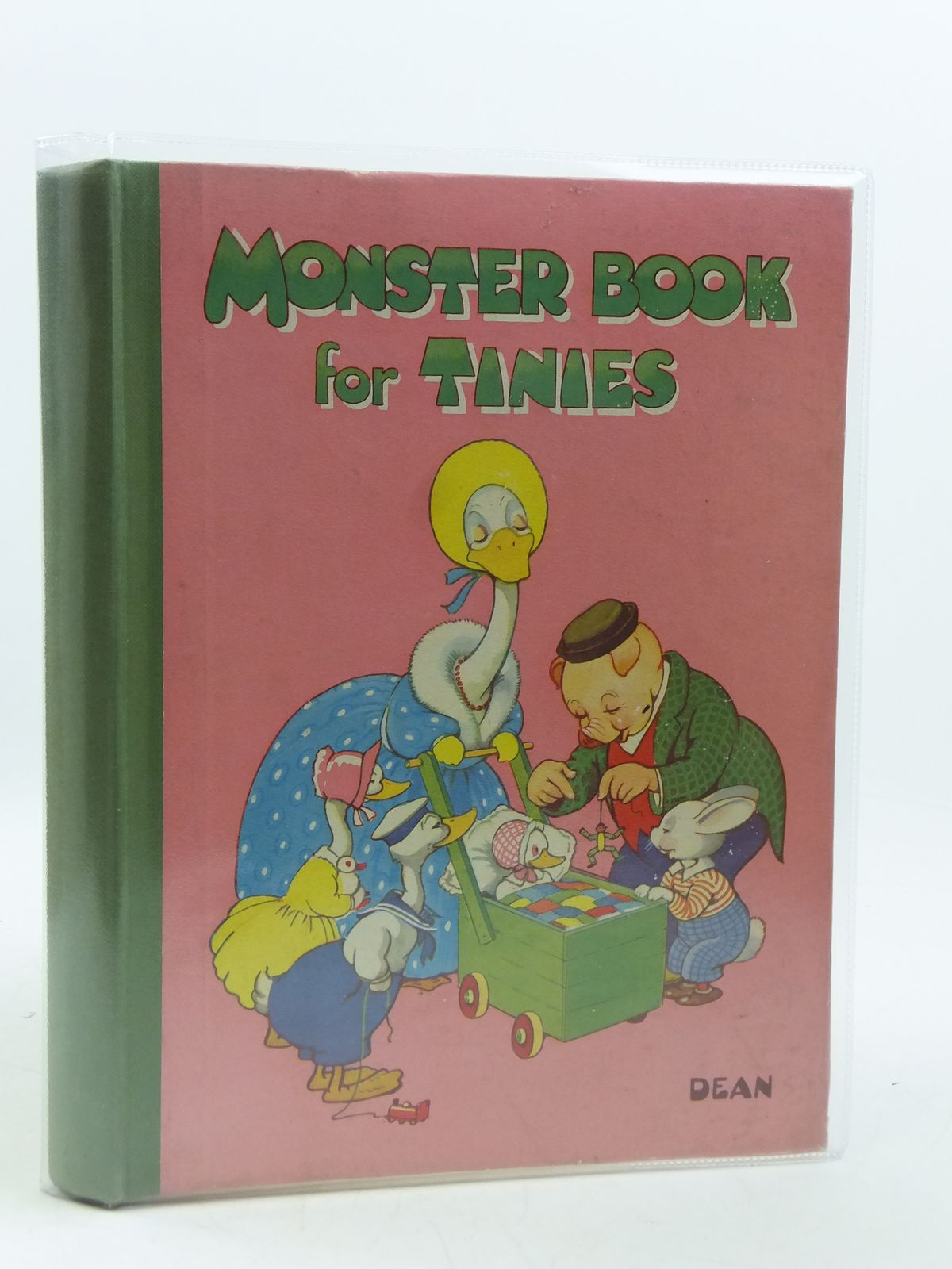 Photo of MONSTER BOOK FOR TINIES written by Pearcey, Kathleen<br />Allan, Mabel Esther<br />et al,  published by Dean & Son Ltd. (STOCK CODE: 1604783)  for sale by Stella & Rose's Books