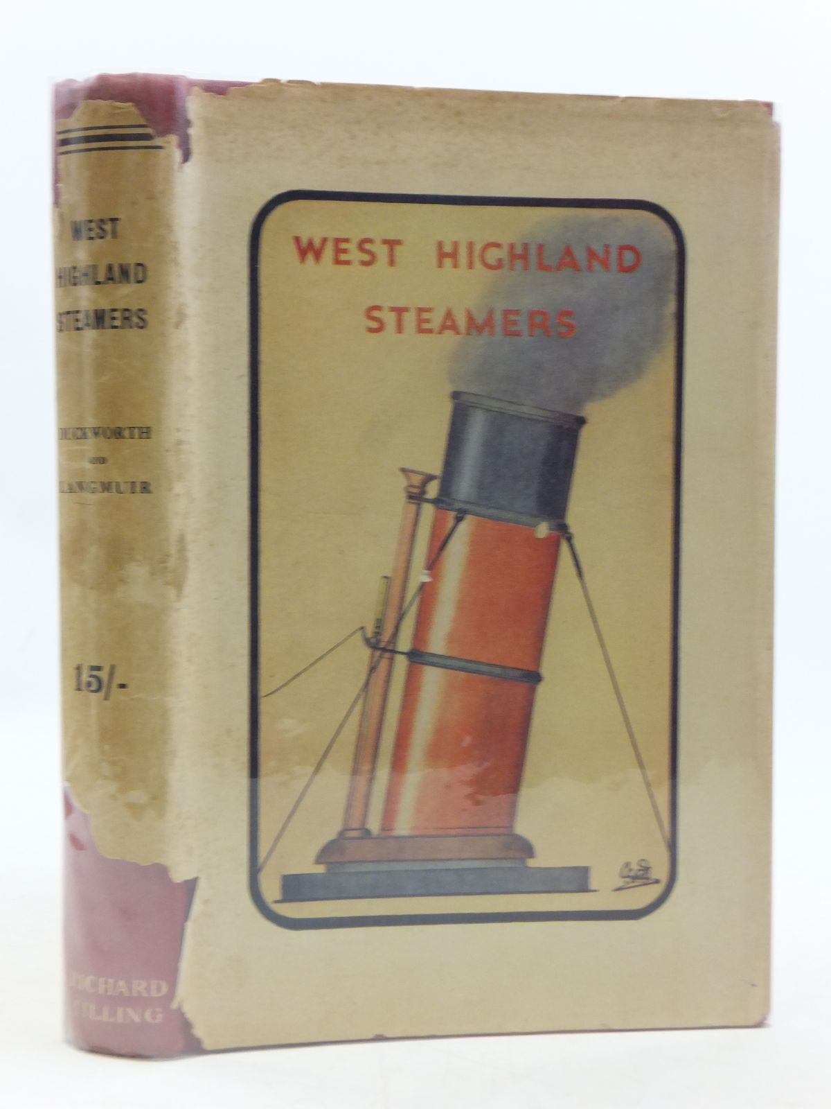 Photo of WEST HIGHLAND STEAMERS written by Duckworth, Christian L.D.<br />Langmuir, Graham Easton published by Richard Tilling (STOCK CODE: 1604904)  for sale by Stella & Rose's Books