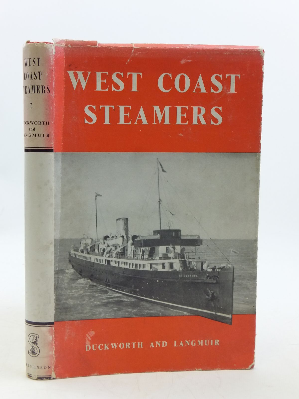 Photo of WEST COAST STEAMERS written by Duckworth, Christian L.D.<br />Langmuir, Graham Easton published by T. Stephenson & Sons Ltd. (STOCK CODE: 1604924)  for sale by Stella & Rose's Books