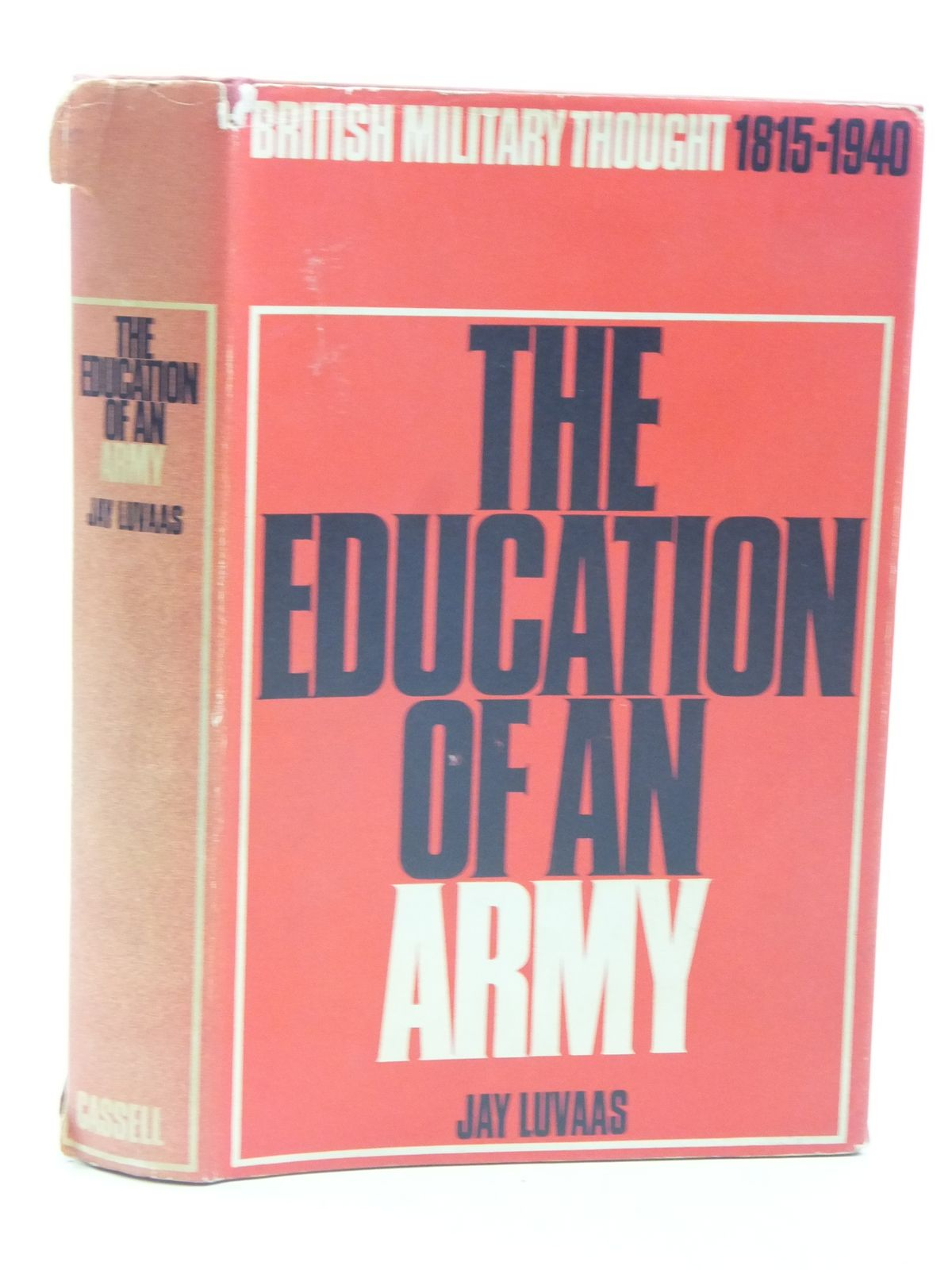 Photo of THE EDUCATION OF AN ARMY written by Luvaas, Jay published by Cassell (STOCK CODE: 1604931)  for sale by Stella & Rose's Books