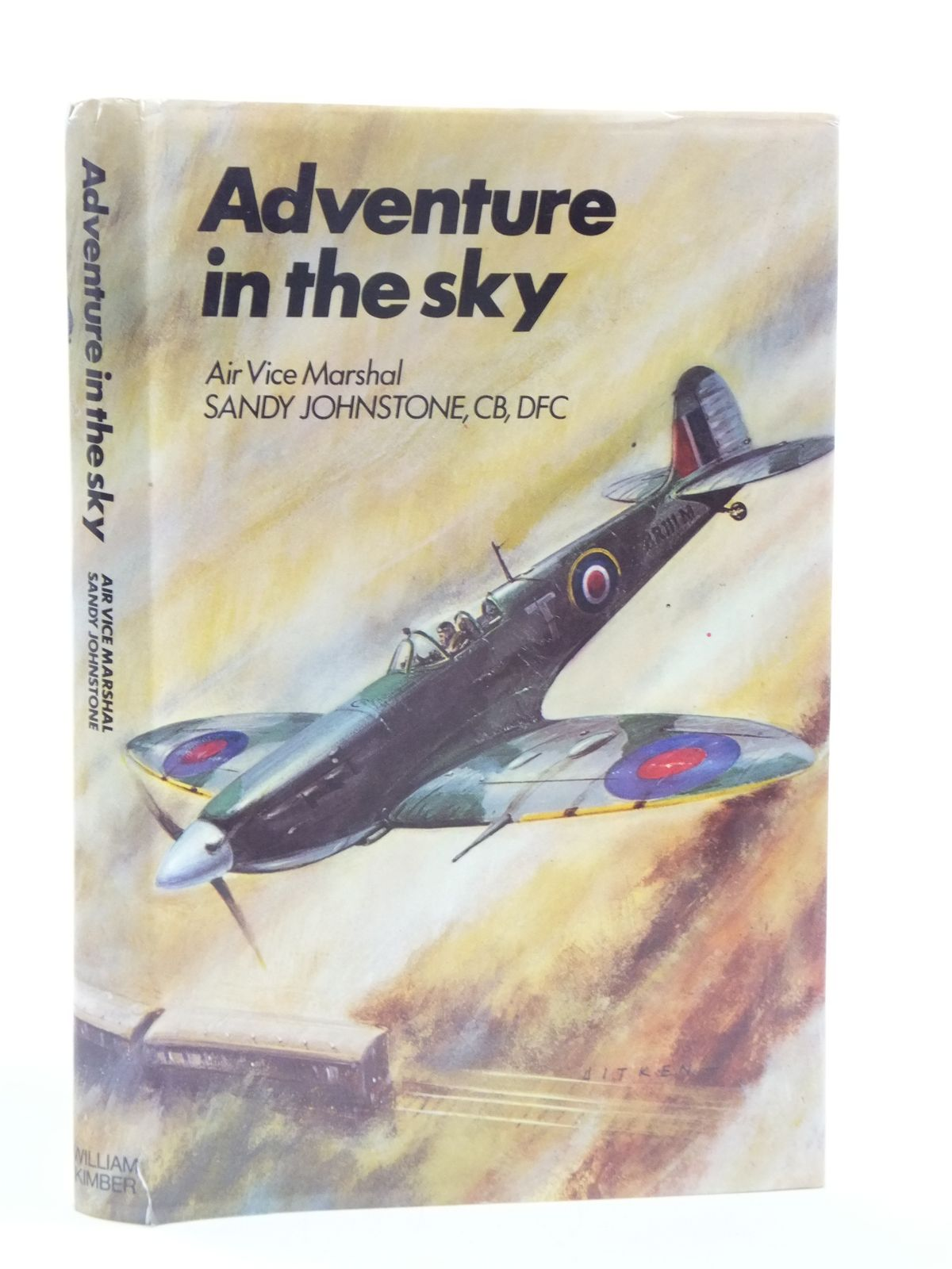 Photo of ADVENTURE IN THE SKY written by Johnstone, Sandy published by William Kimber (STOCK CODE: 1604997)  for sale by Stella & Rose's Books