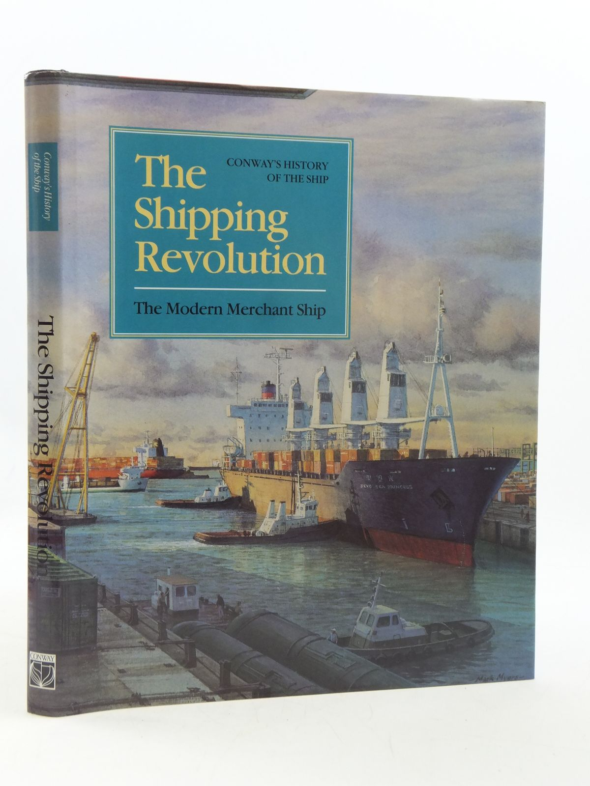 Photo of THE SHIPPING REVOLUTION THE MODERN MERCHANT SHIP written by Gardiner, Robert<br />Couper, Alastair<br />et al,  published by Conway Maritime Press (STOCK CODE: 1605035)  for sale by Stella & Rose's Books