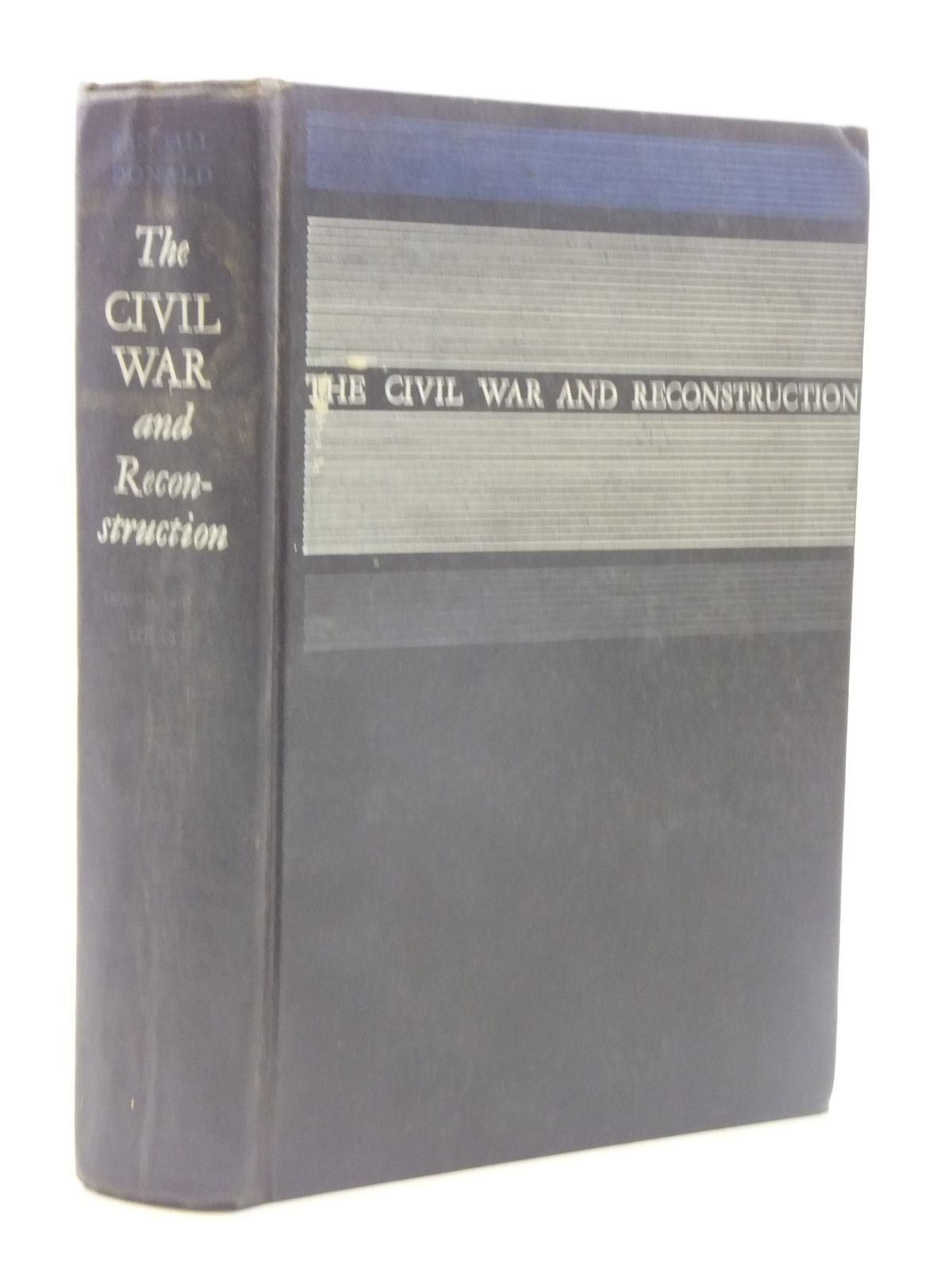 Photo of THE CIVIL WAR AND RECONSTRUCTION written by Randall, J.G.<br />Donald, David published by D.C. Heath and Company (STOCK CODE: 1605071)  for sale by Stella & Rose's Books