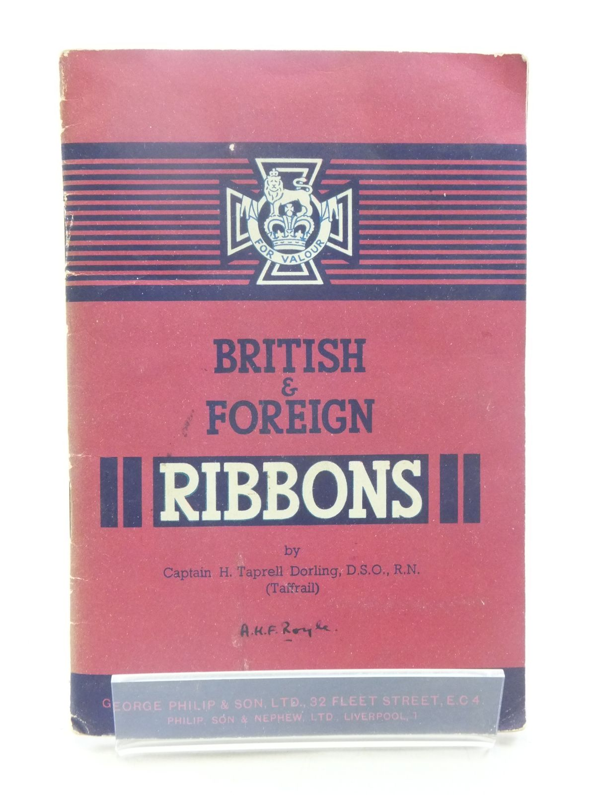 Photo of BRITISH AND FOREIGN RIBBONS written by Dorling, H. Taprell published by George Philip & Son Ltd. (STOCK CODE: 1605238)  for sale by Stella & Rose's Books