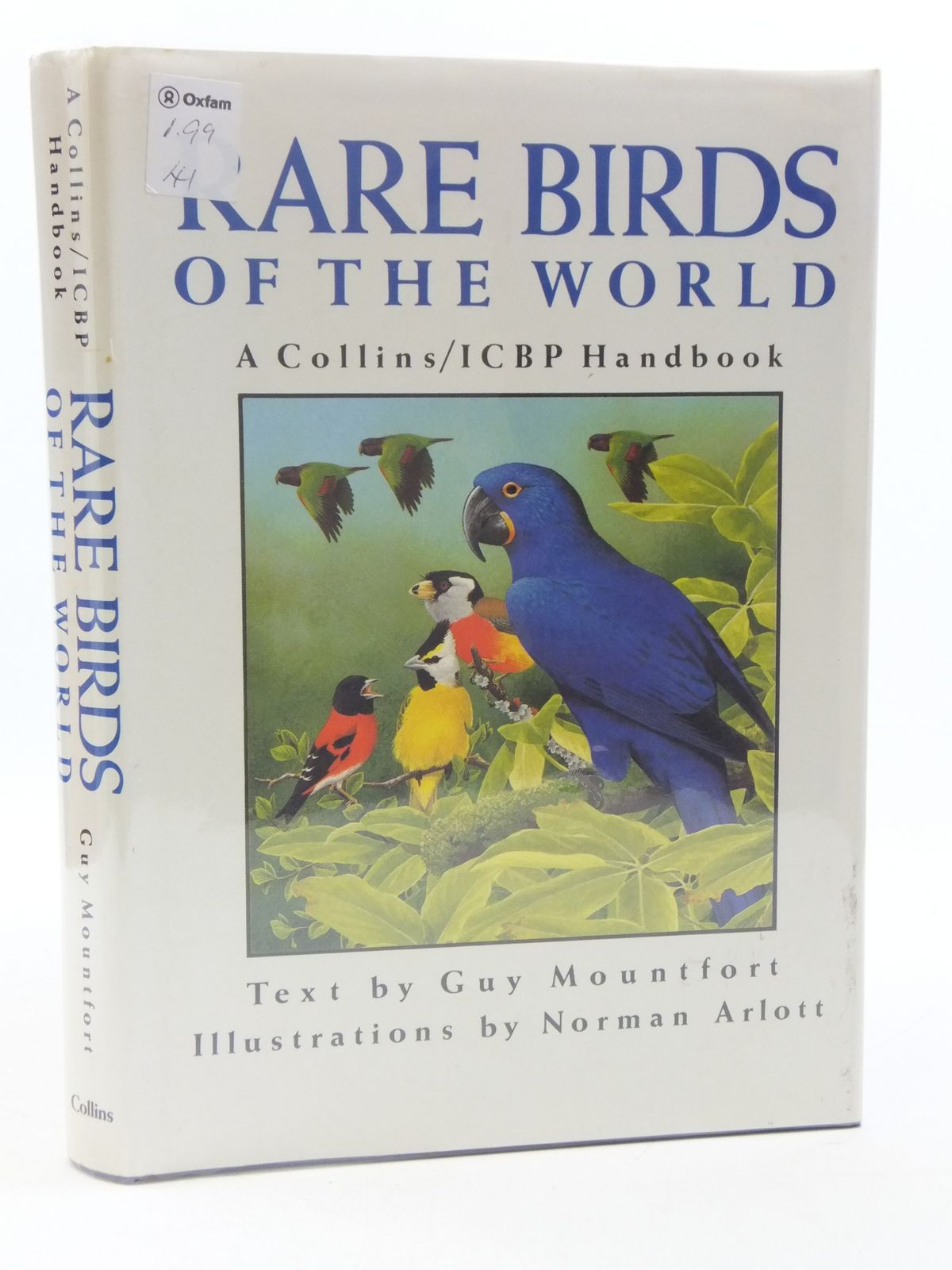 Photo of RARE BIRDS OF THE WORLD written by Mountfort, Guy illustrated by Arlott, Norman published by Collins (STOCK CODE: 1605293)  for sale by Stella & Rose's Books