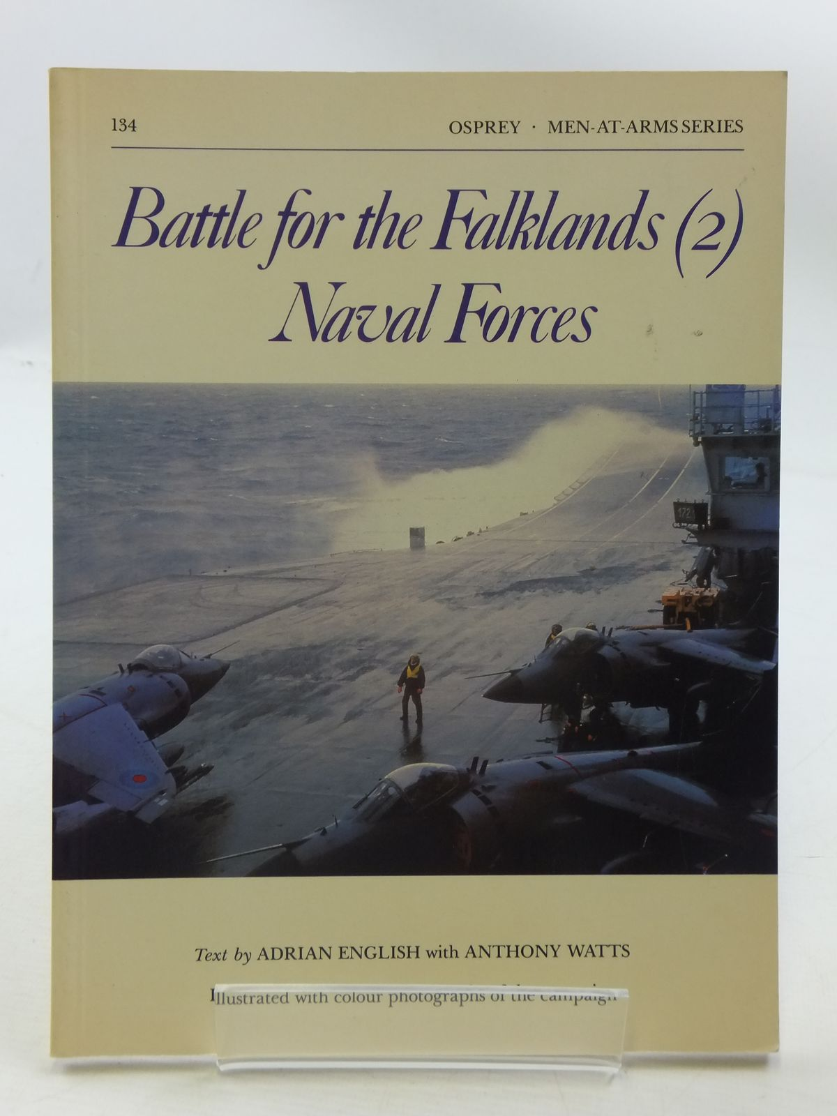 Photo of BATTLE FOR THE FALKLANDS (2) NAVAL FORCES written by English, Adrian<br />Watts, Anthony published by Osprey Publishing (STOCK CODE: 1605381)  for sale by Stella & Rose's Books