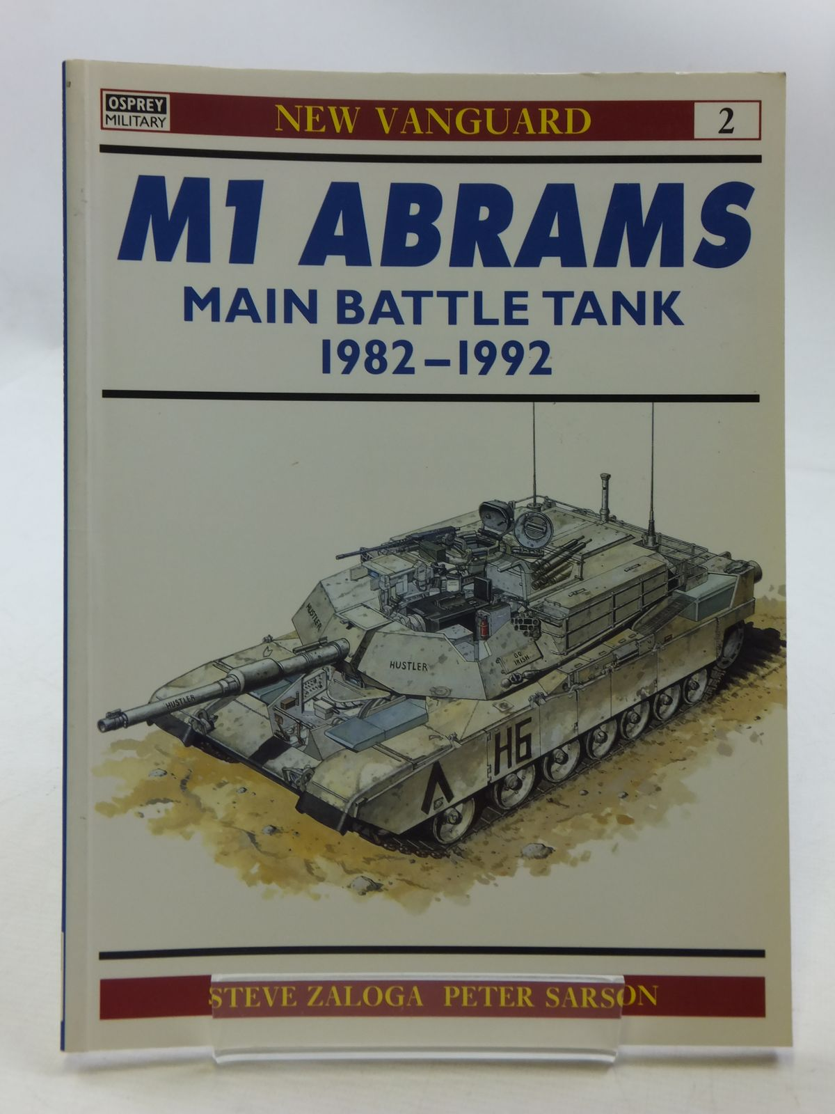 Photo of M1 ABRAMS MAIN BATTLE TANK 1982-1992 written by Zaloga, Steven J. illustrated by Sarson, Peter published by Osprey Publishing (STOCK CODE: 1605399)  for sale by Stella & Rose's Books