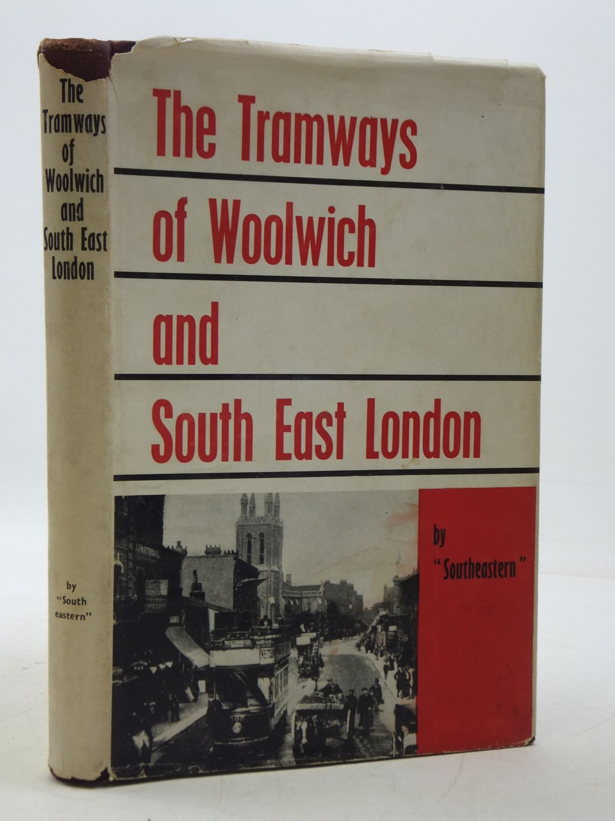 Photo of THE TRAMWAYS OF WOOLWICH AND SOUTH EAST LONDON written by Southeastern,<br />Baddeley, G.E. published by The Light Railway Transport League, The Tramway & Light Railway Society (STOCK CODE: 1605439)  for sale by Stella & Rose's Books