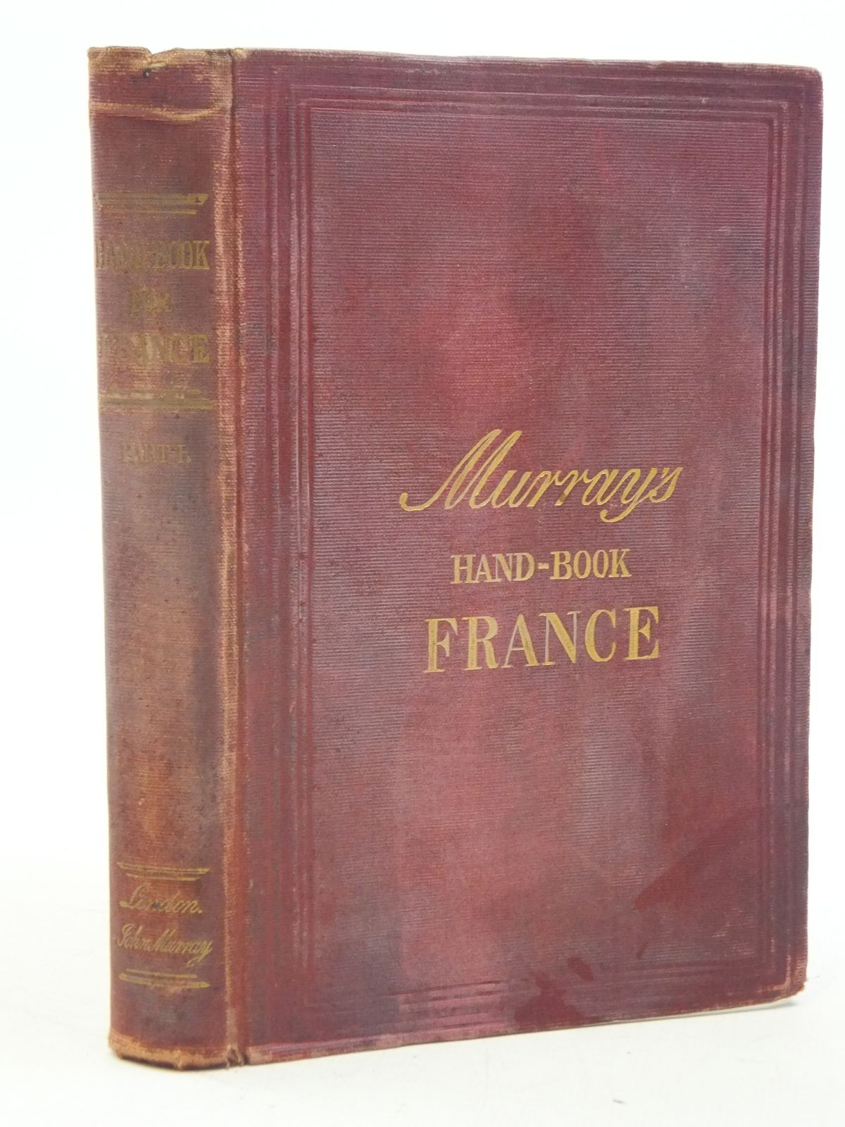 Photo of A HANDBOOK FOR TRAVELLERS IN FRANCE PART 1 published by John Murray (STOCK CODE: 1605470)  for sale by Stella & Rose's Books