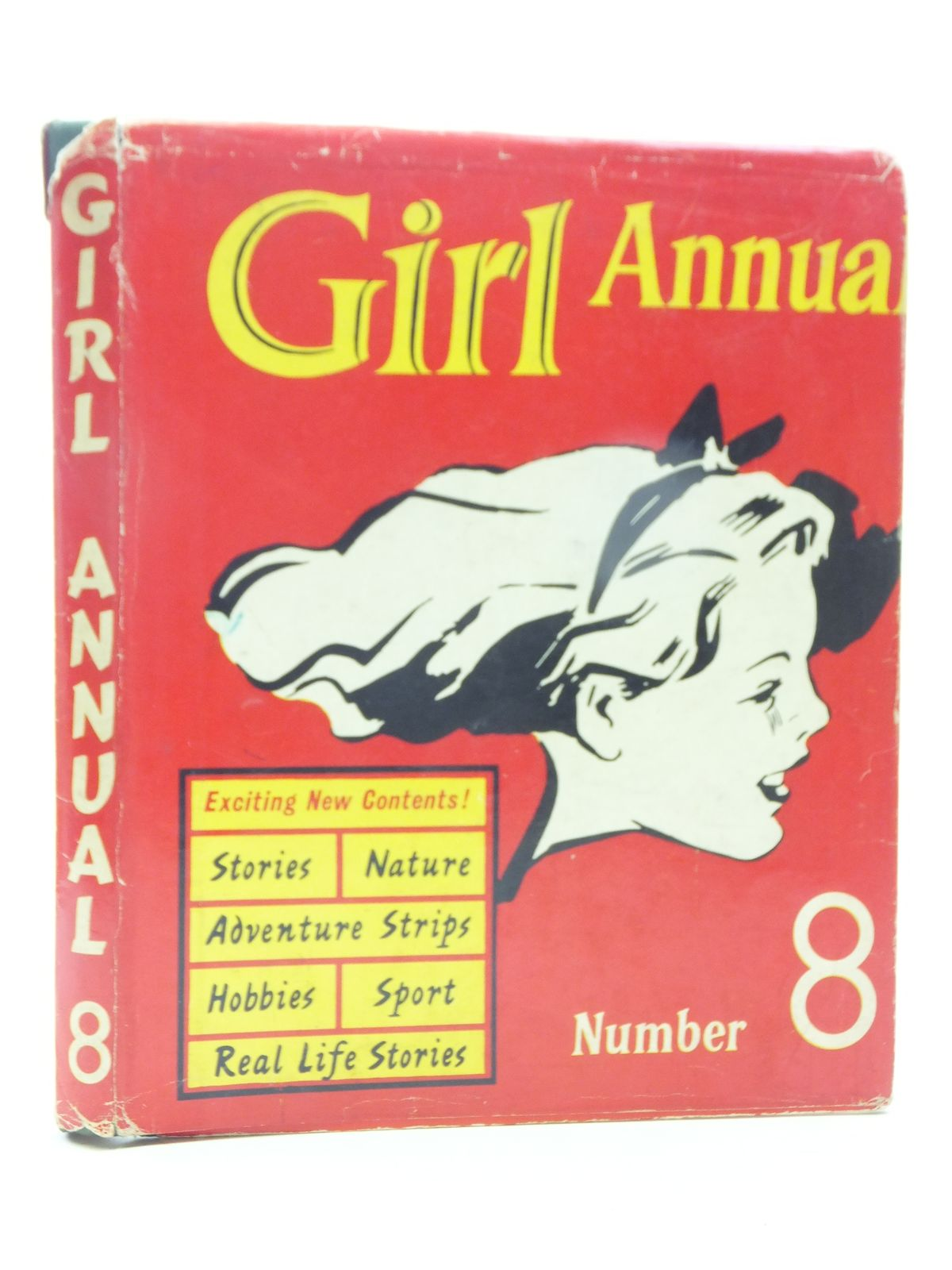Photo of GIRL ANNUAL No. 8 written by Morris, Marcus published by Hulton Press Ltd. (STOCK CODE: 1605611)  for sale by Stella & Rose's Books
