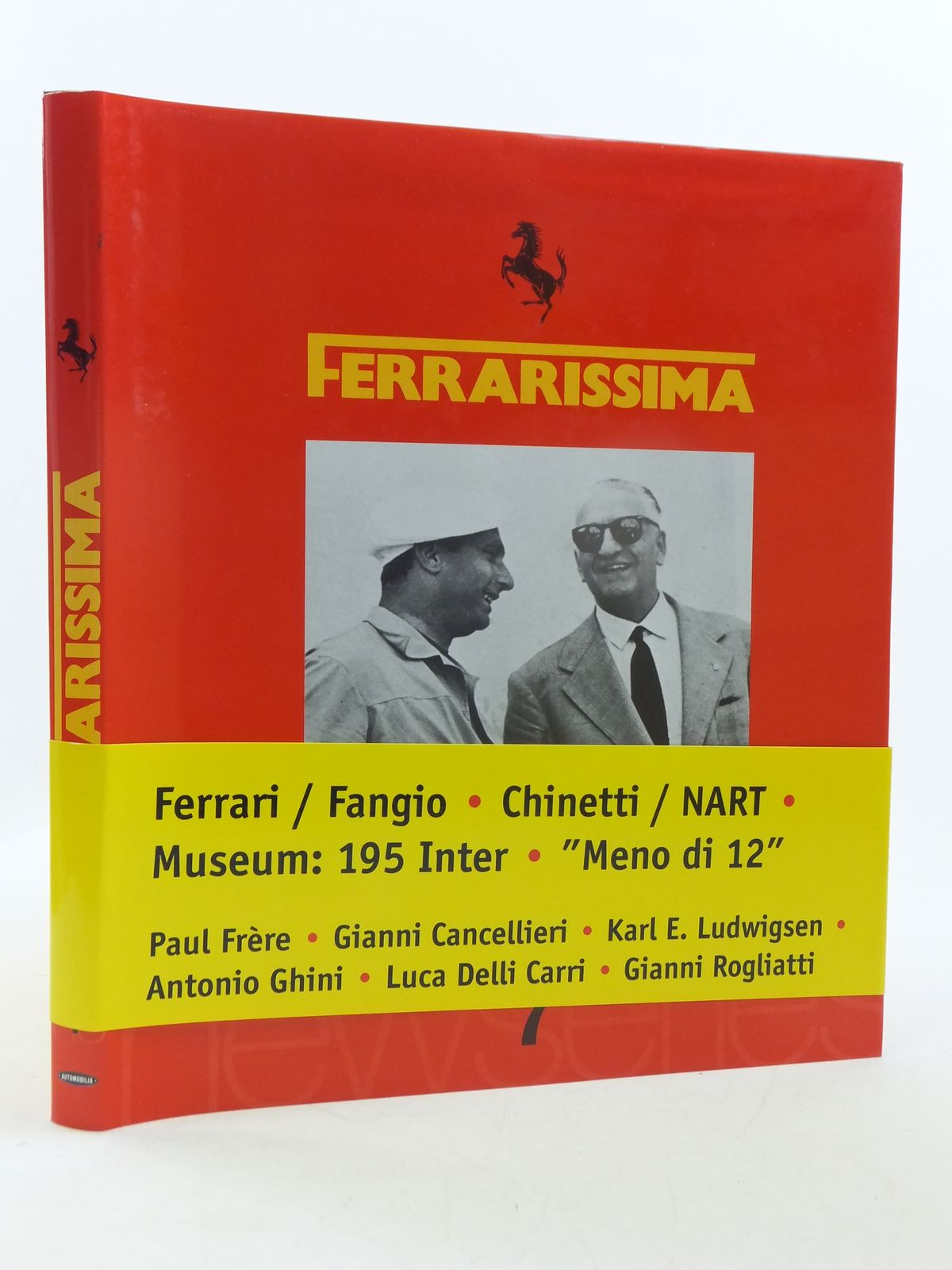 Photo of FERRARISSIMA 7 (NEW SERIES) written by Alfieri, Bruno published by Automobilia (STOCK CODE: 1605621)  for sale by Stella & Rose's Books