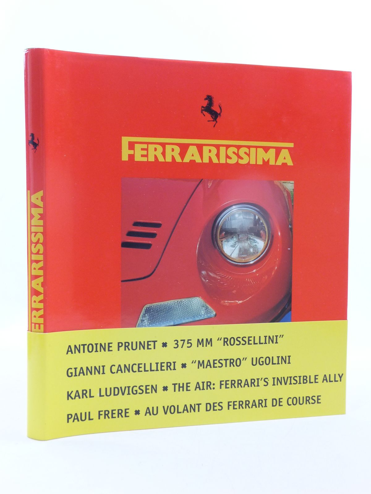 Photo of FERRARISSIMA 5 (NEW SERIES) written by Alfieri, Bruno published by Automobilia (STOCK CODE: 1605622)  for sale by Stella & Rose's Books