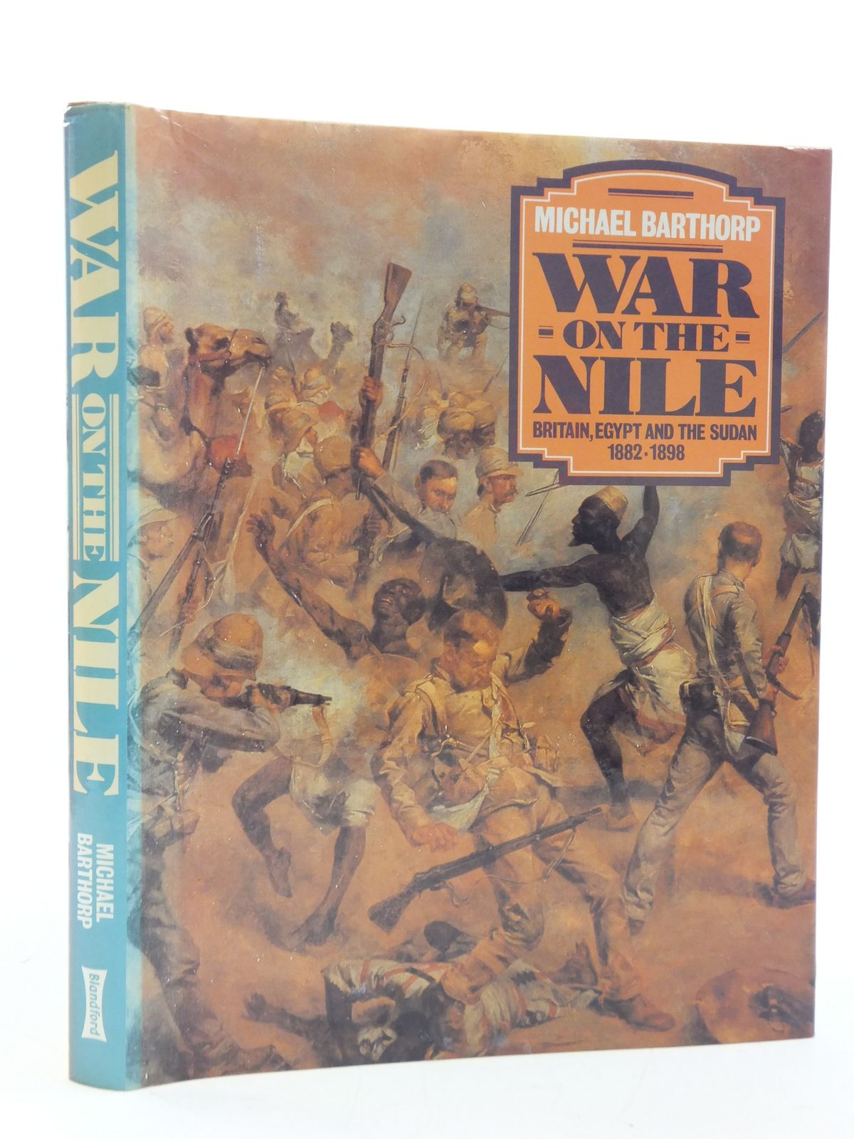Photo of WAR ON THE NILE written by Barthorp, Michael published by Blandford Press (STOCK CODE: 1605731)  for sale by Stella & Rose's Books
