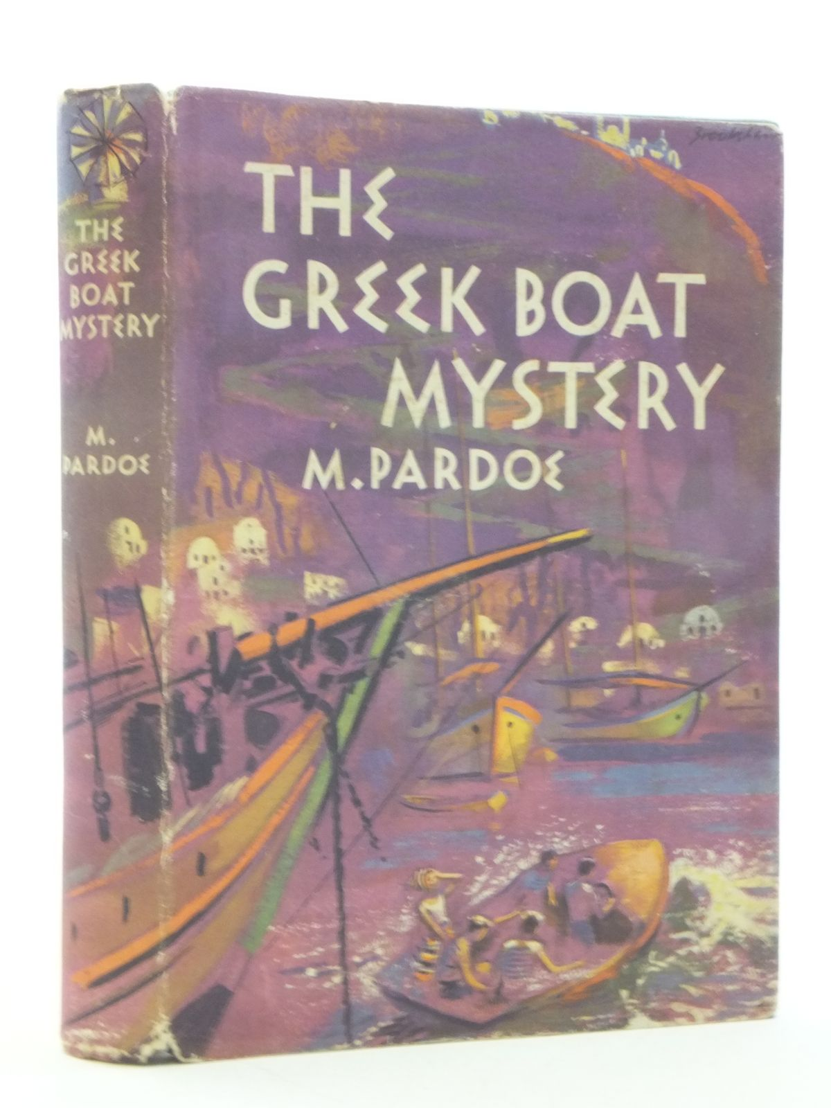 Photo of THE GREEK BOAT MYSTERY written by Pardoe, M. published by The Children's Book Club (STOCK CODE: 1605741)  for sale by Stella & Rose's Books