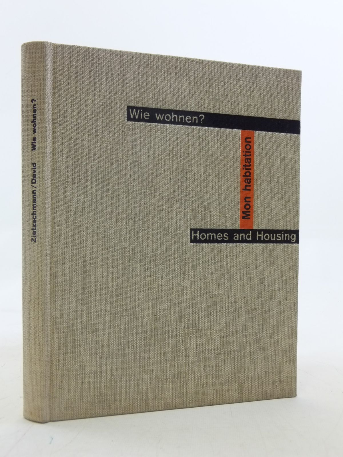 Photo of WIE WOHNEN? / HOMES AND HOUSING / MON HABITATION written by Zietzschmann, Ernst<br />David, Gertrud published by Verlag Fur Architektur Erlenbach (STOCK CODE: 1605815)  for sale by Stella & Rose's Books