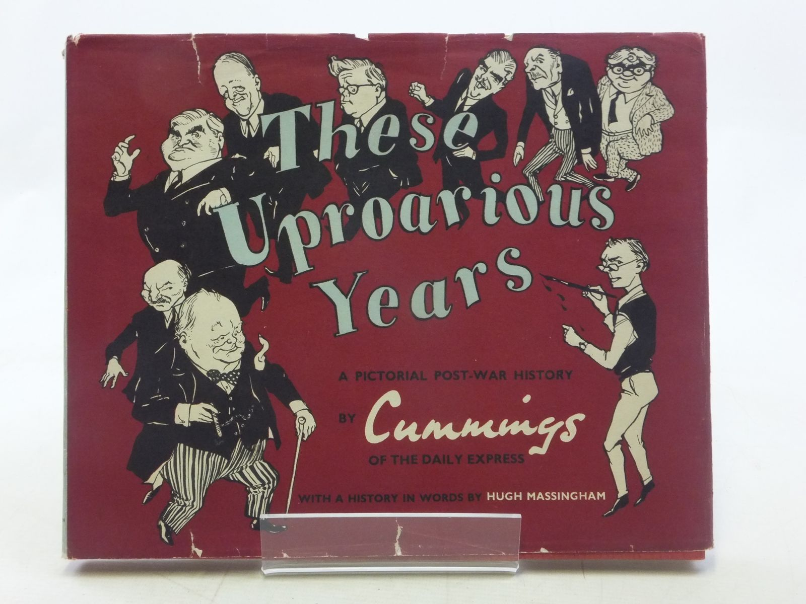 Photo of THESE UPROARIOUS YEARS written by Cummings, Michael illustrated by Cummings, Michael published by MacGibbon & Kee (STOCK CODE: 1605934)  for sale by Stella & Rose's Books