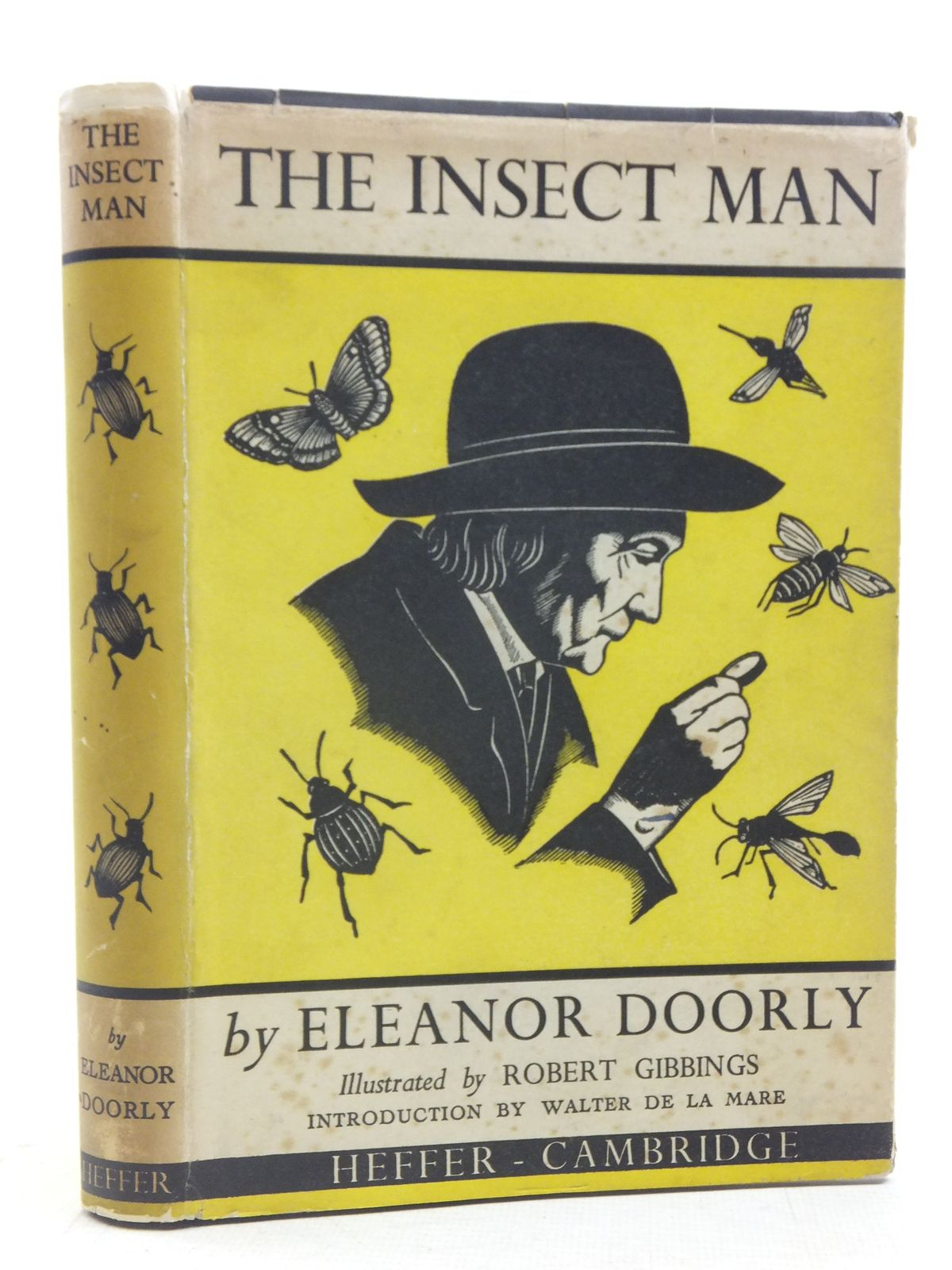 Photo of THE INSECT MAN written by Doorly, Eleanor illustrated by Gibbings, Robert published by W. Heffer & Sons Ltd. (STOCK CODE: 1606038)  for sale by Stella & Rose's Books