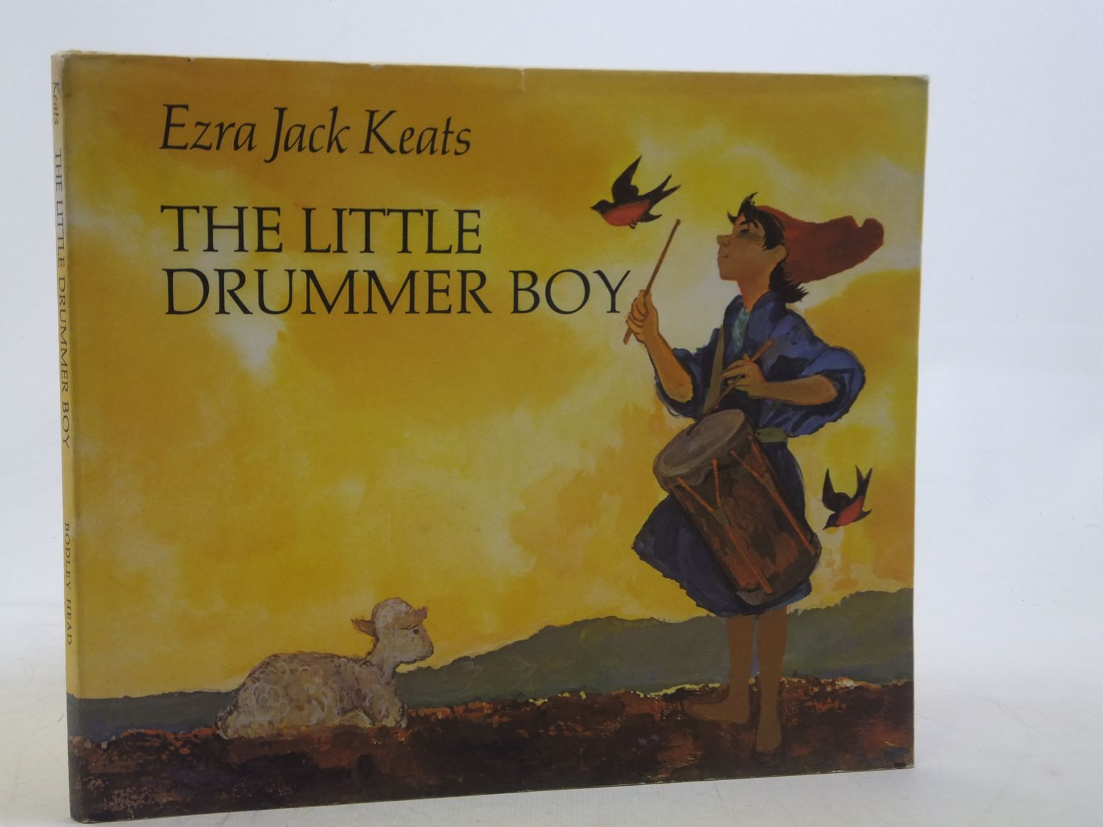 Photo of THE LITTLE DRUMMER BOY written by Keats, Ezra Jack illustrated by Keats, Ezra Jack published by The Bodley Head (STOCK CODE: 1606062)  for sale by Stella & Rose's Books