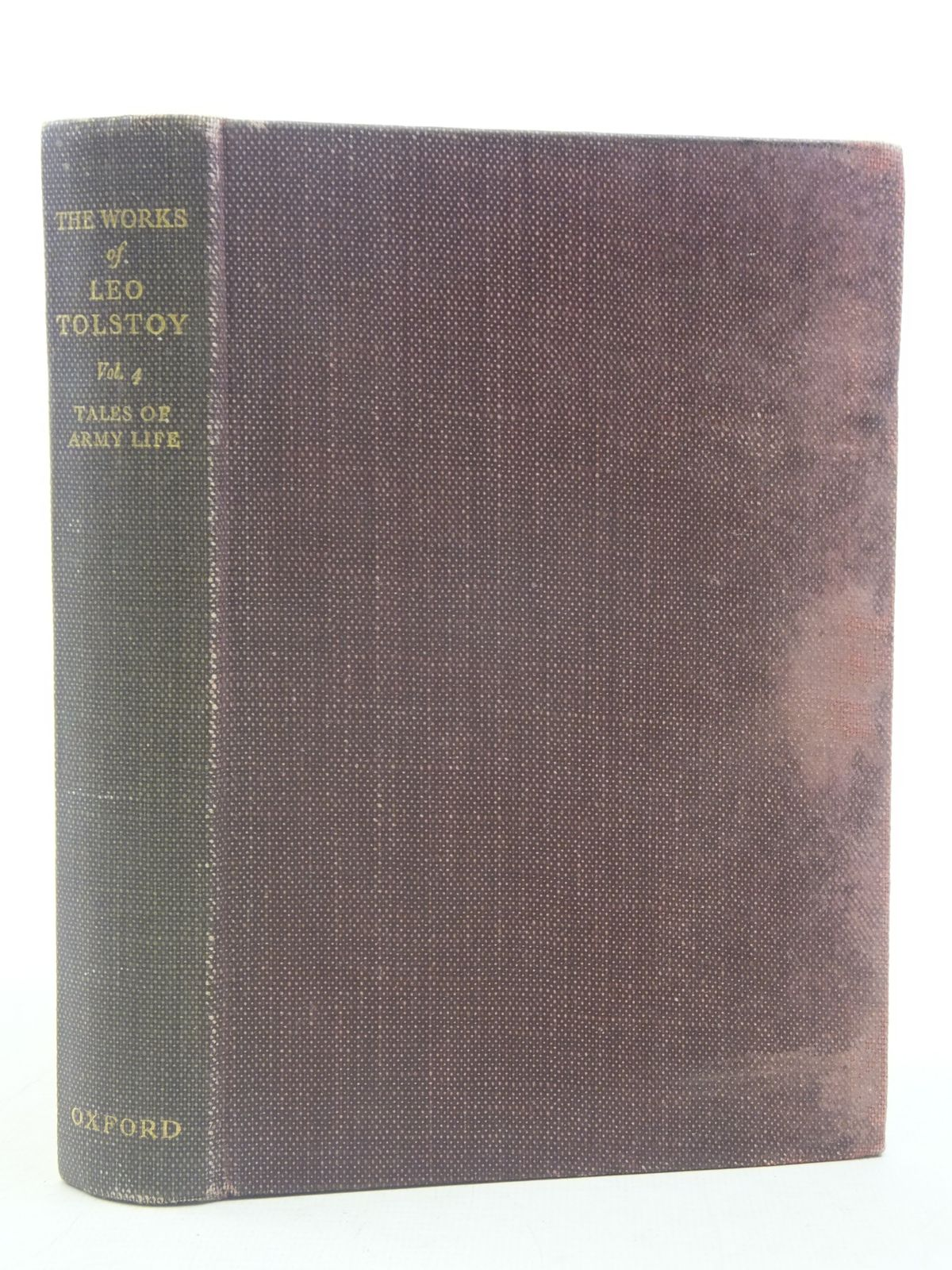 Photo of TALES OF ARMY LIFE written by Tolstoy, Leo published by Oxford University Press (STOCK CODE: 1606064)  for sale by Stella & Rose's Books