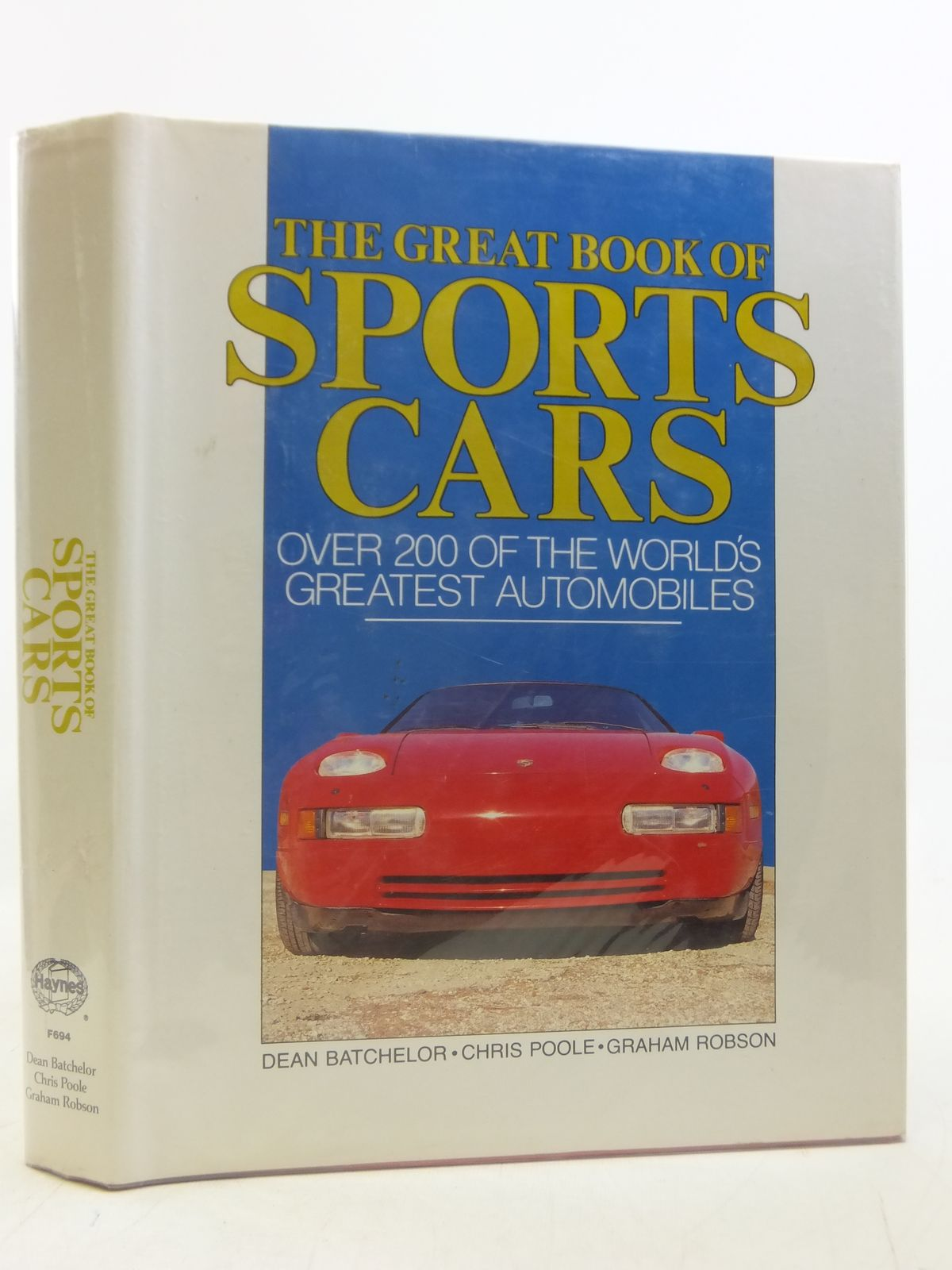Photo of THE GREAT BOOK OF SPORTS CARS written by Batchelor, Dean<br />Poole, Chris<br />Robson, Graham published by Portland House (STOCK CODE: 1606087)  for sale by Stella & Rose's Books