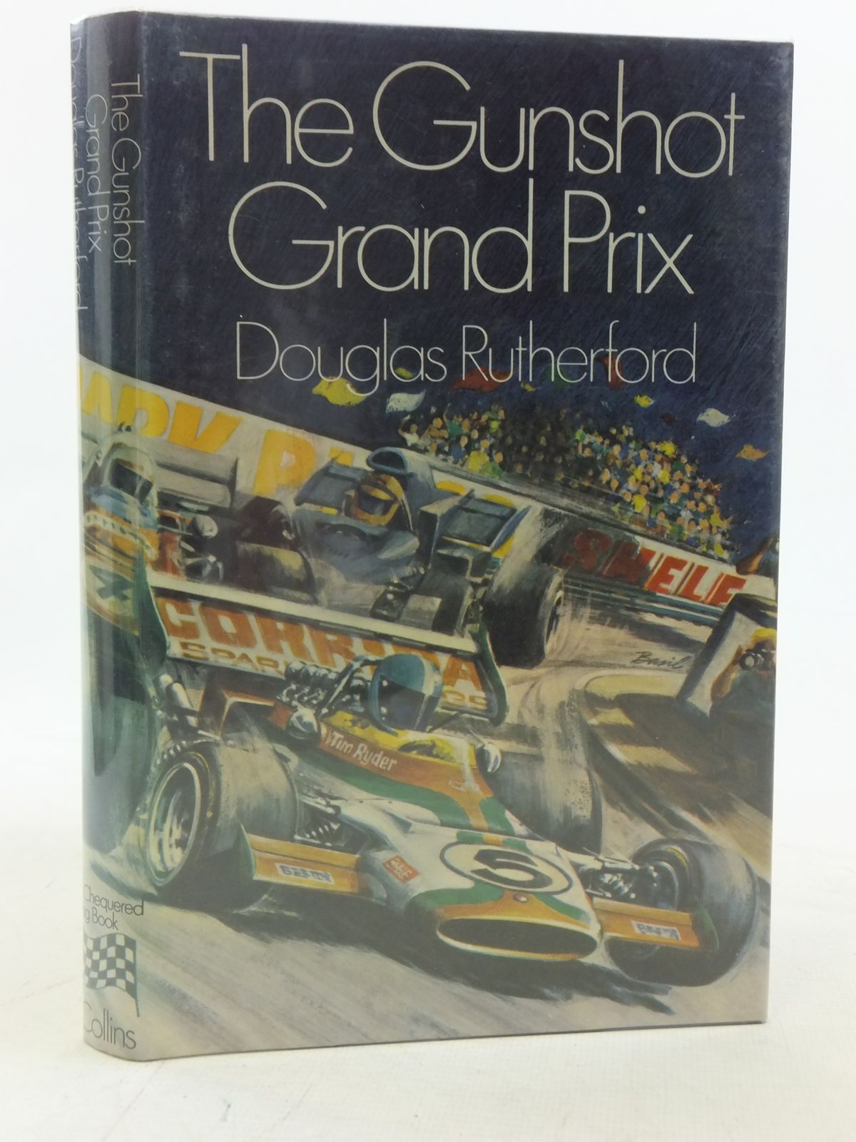 the gunshot grand prix written by rutherford douglas stock code 1606114 stella rose 39 s books. Black Bedroom Furniture Sets. Home Design Ideas