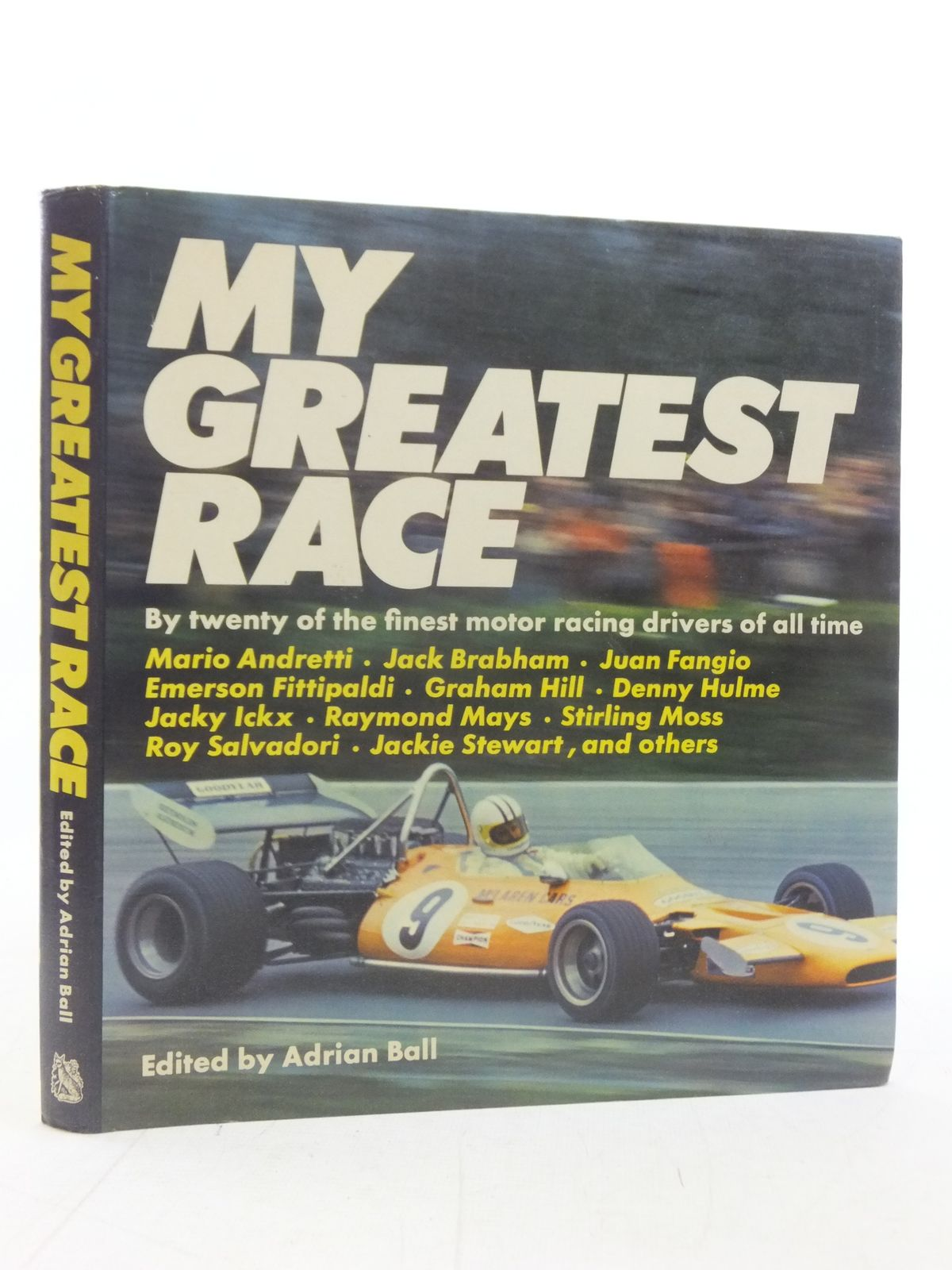 Photo of MY GREATEST RACE written by Ball, Adrian published by Hart-Davis, MacGibbon (STOCK CODE: 1606193)  for sale by Stella & Rose's Books