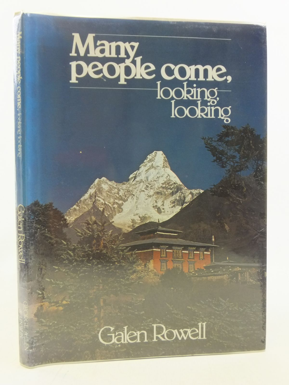 Photo of MANY PEOPLE COME, LOOKING, LOOKING written by Rowell, Galen published by George Allen & Unwin (STOCK CODE: 1606261)  for sale by Stella & Rose's Books