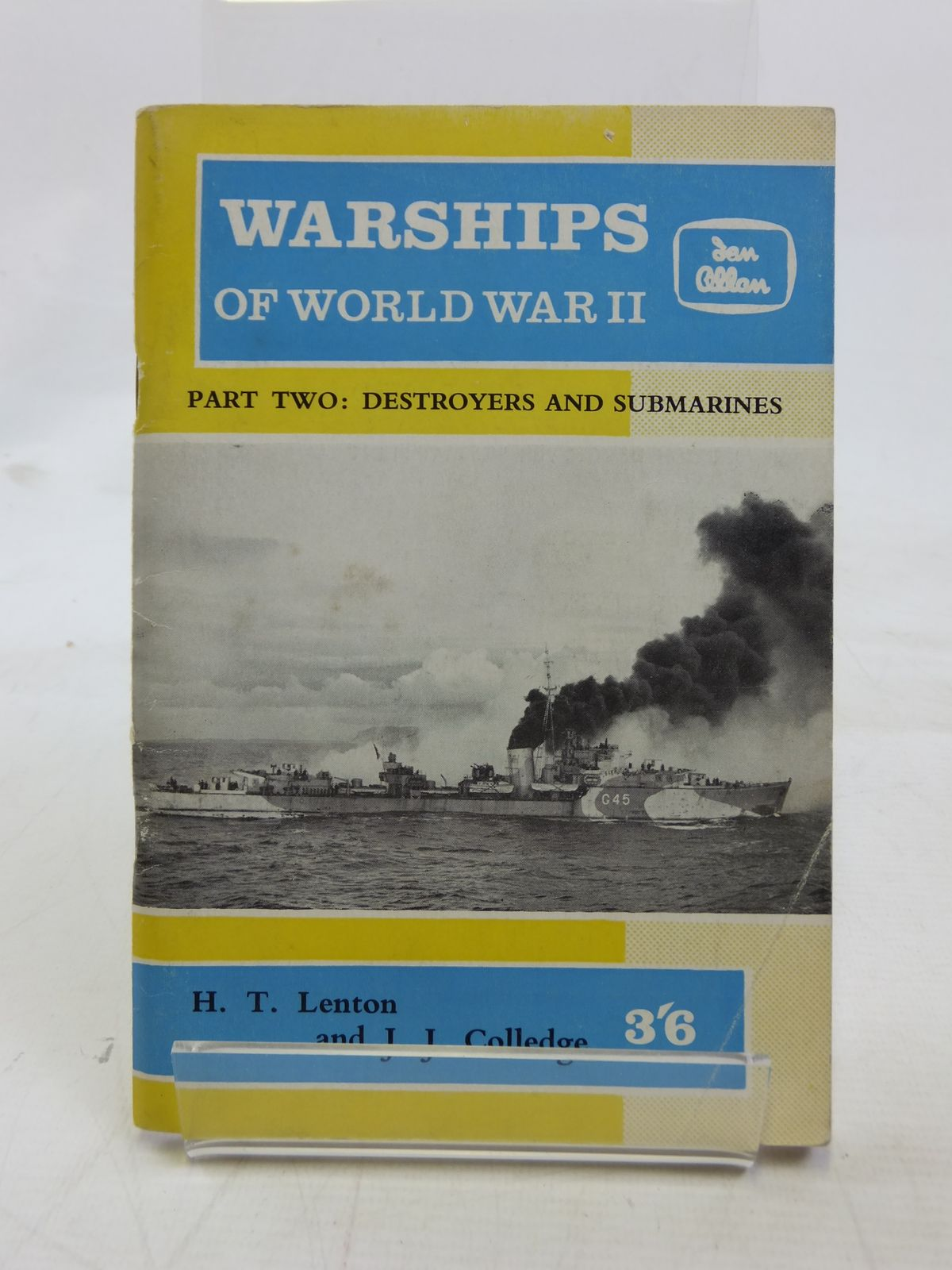 Photo of WARSHIPS OF WORLD WAR II PART 2 written by Lenton, H.T.<br />Colledge, J.J. published by Ian Allan (STOCK CODE: 1606324)  for sale by Stella & Rose's Books