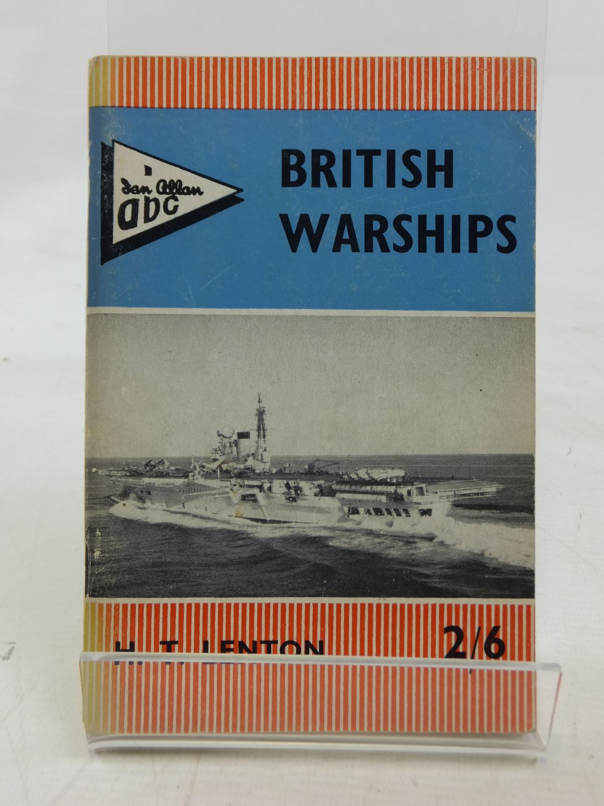 Photo of ABC BRITISH WARSHIPS written by Lenton, H.T. published by Ian Allan Ltd. (STOCK CODE: 1606325)  for sale by Stella & Rose's Books
