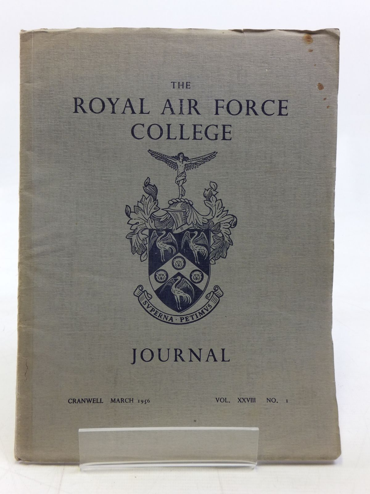 Photo of THE ROYAL AIR FORCE COLLEGE JOURNAL MARCH 1956 VOL. XXVIII No. 1 published by The Royal Air Force College (STOCK CODE: 1606345)  for sale by Stella & Rose's Books