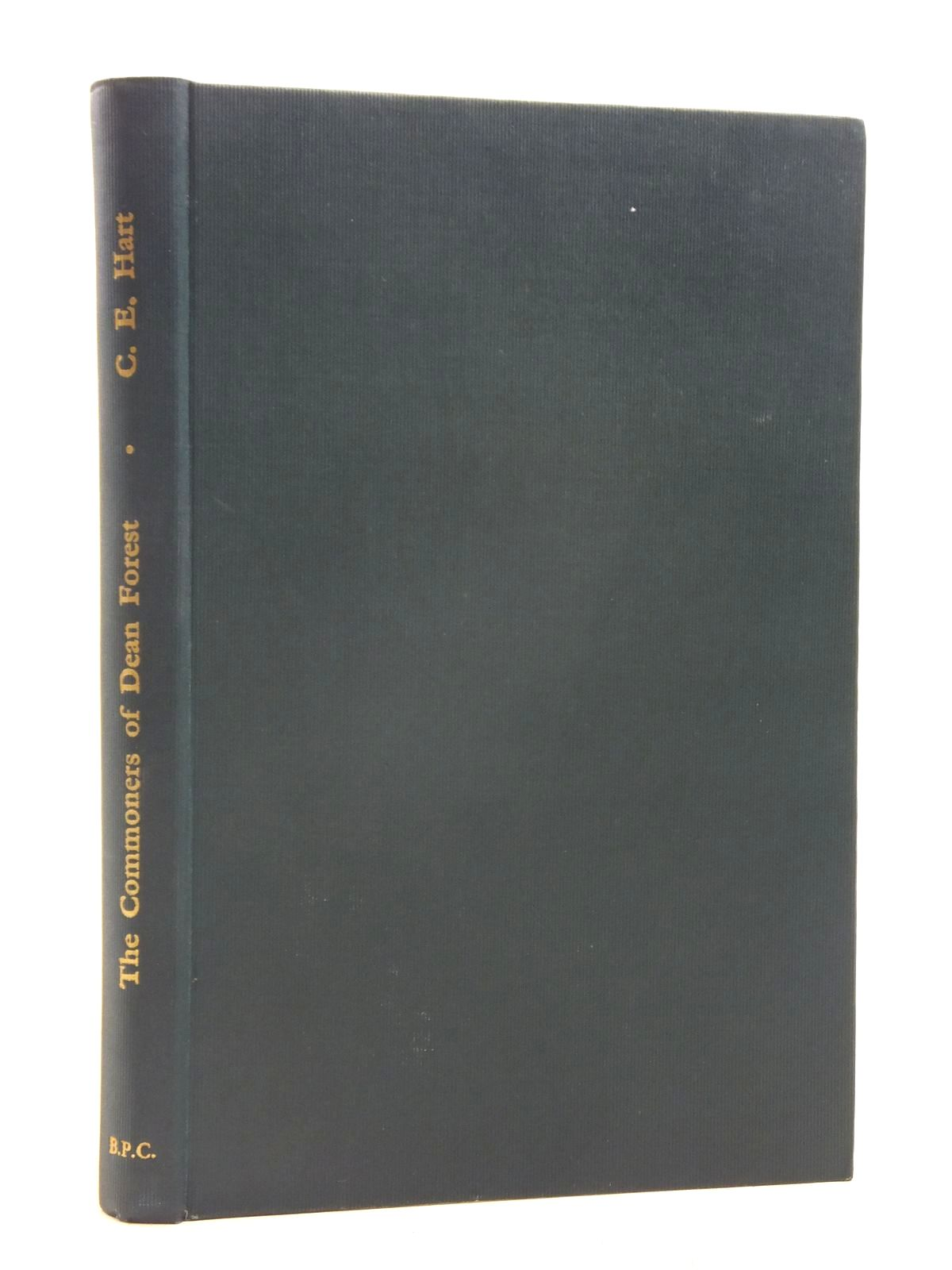 Photo of THE COMMONERS OF DEAN FOREST written by Hart, Cyril published by The British Publishing Company (STOCK CODE: 1606400)  for sale by Stella & Rose's Books