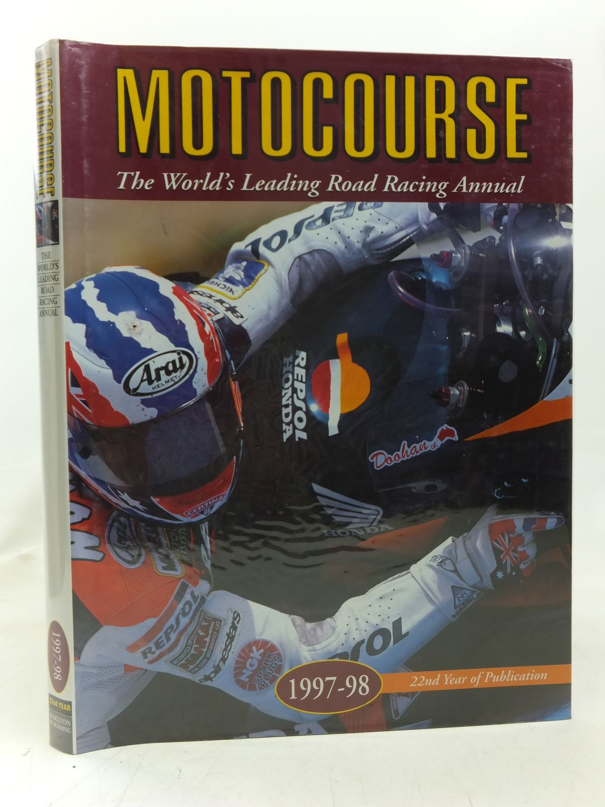 Photo of MOTOCOURSE 1997-98 published by Hazleton Publishing (STOCK CODE: 1606421)  for sale by Stella & Rose's Books