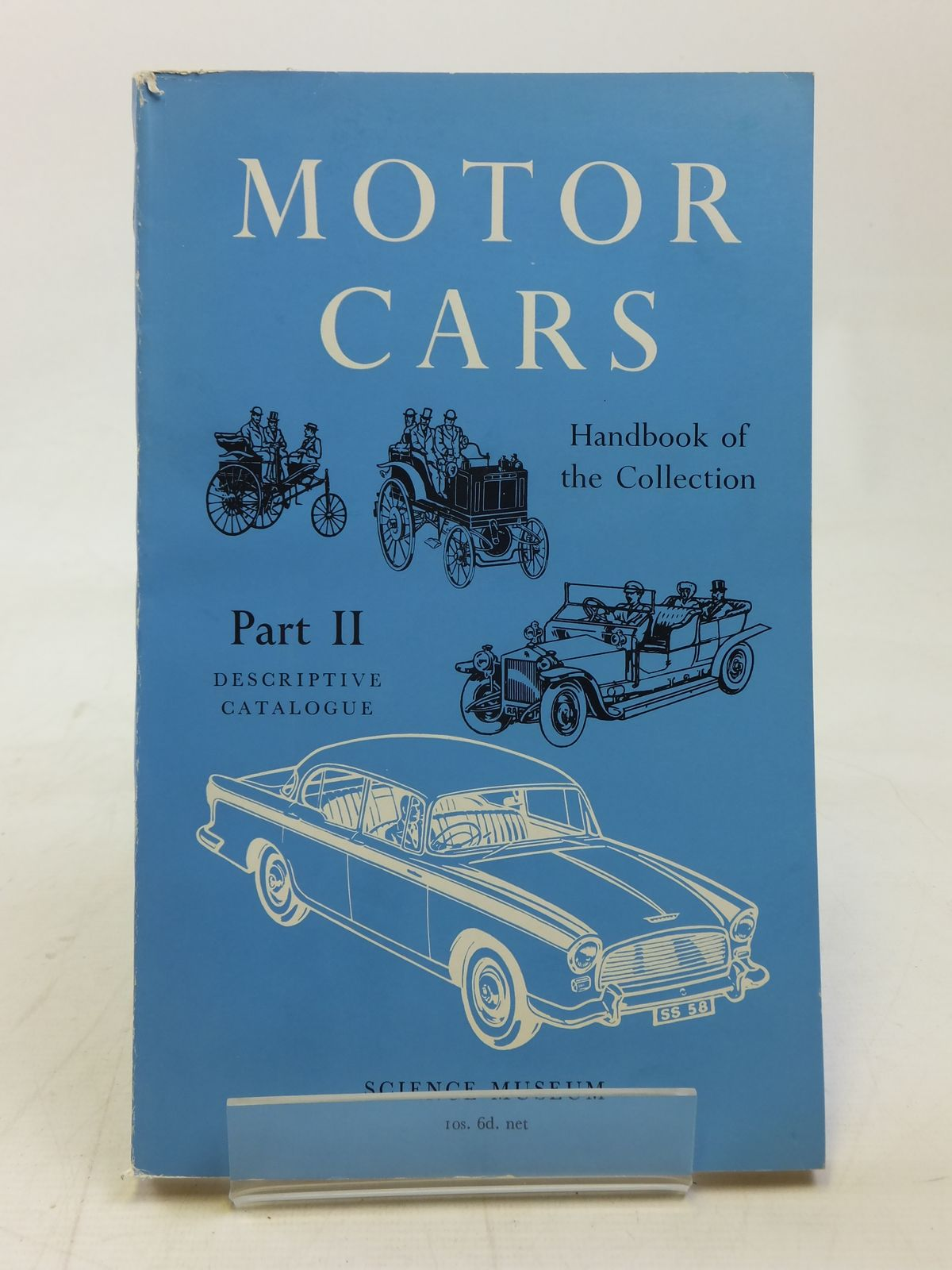 Photo of HANDBOOK OF THE COLLECTION ILLUSTRATING MOTOR CARS PART II written by Caunter, C.F. published by HMSO (STOCK CODE: 1606441)  for sale by Stella & Rose's Books