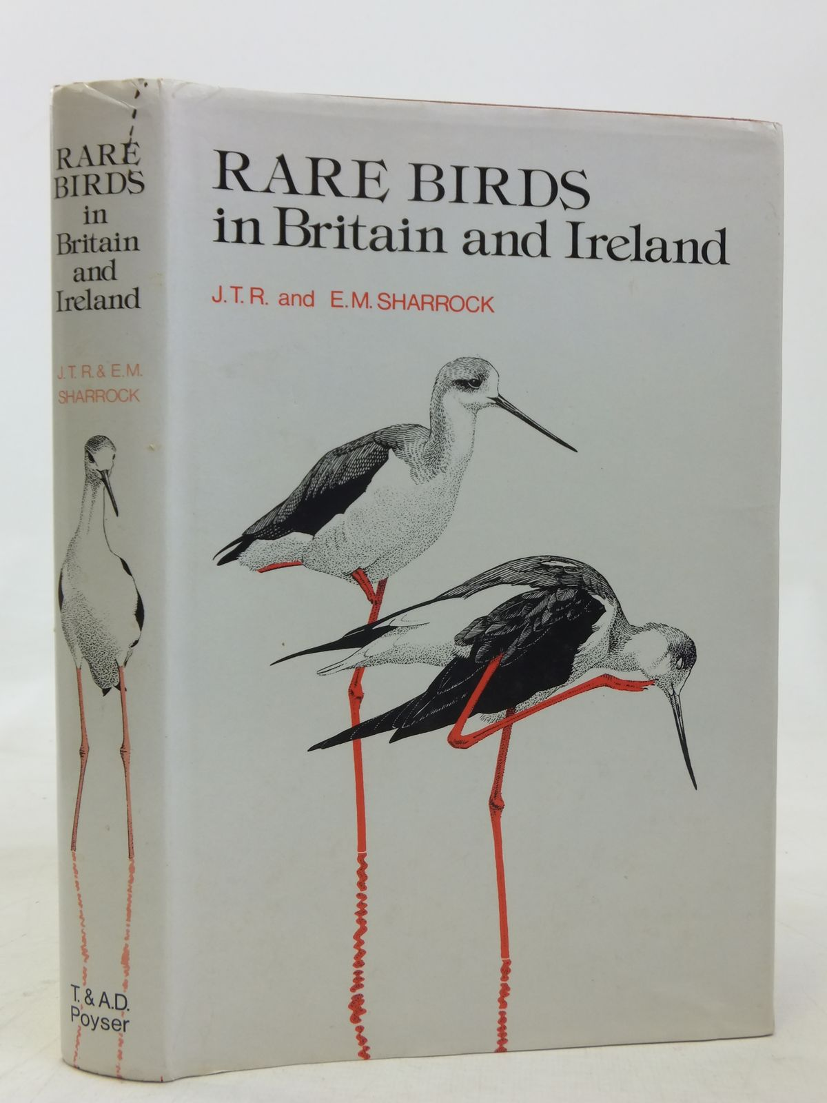 Photo of RARE BIRDS IN BRITAIN AND IRELAND written by Sharrock, J.T.R.<br />Sharrock, E.M. illustrated by Gillmor, Robert<br />et al.,  published by T. & A.D. Poyser (STOCK CODE: 1606451)  for sale by Stella & Rose's Books